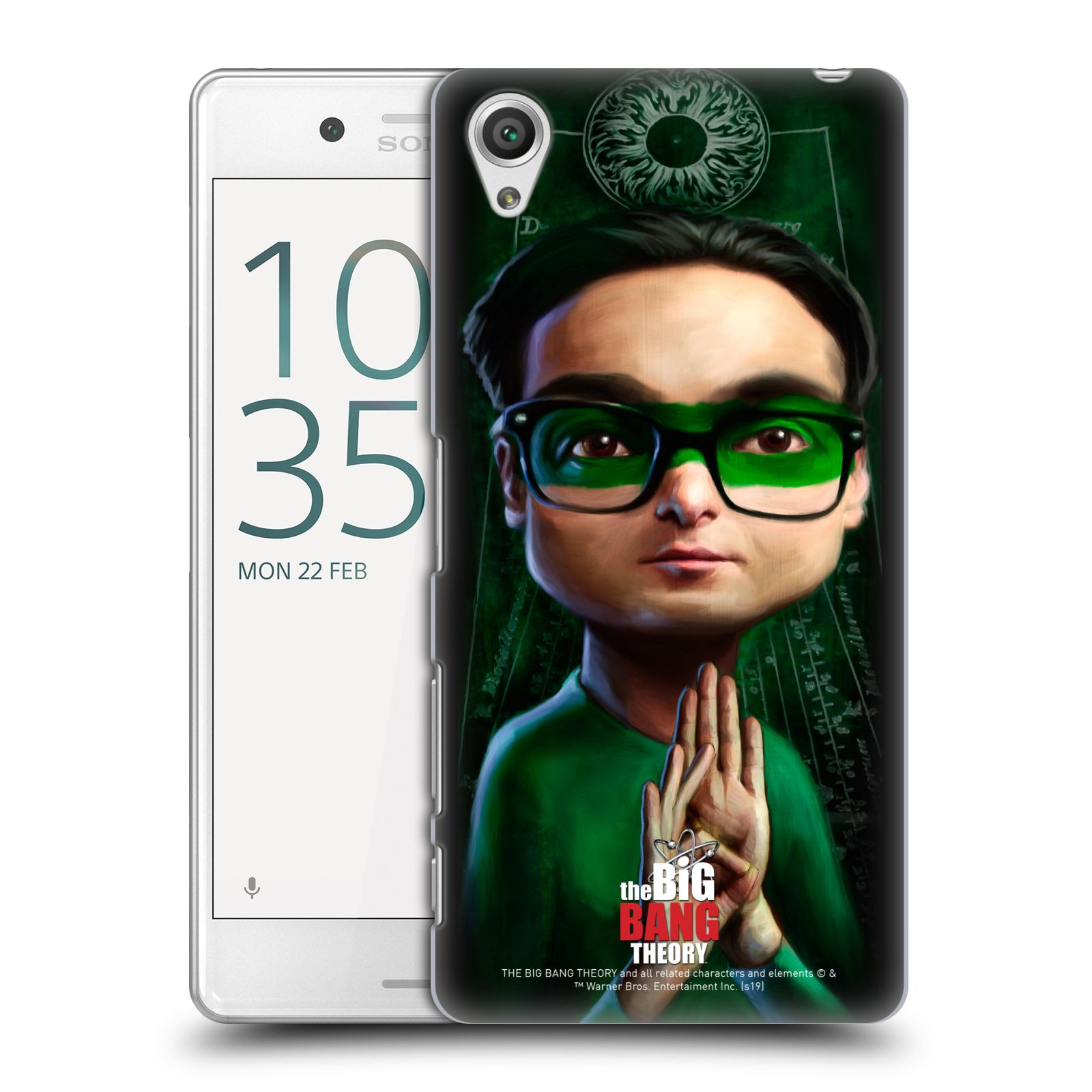Pouzdro na mobil Sony Xperia X PERFORMANCE - HEAD CASE - Big Bang Theory - Leonard Hofstadter