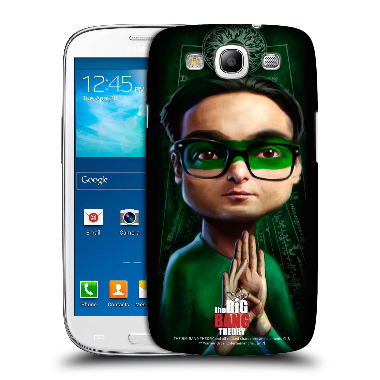 Pouzdro na mobil Samsung Galaxy S3 - HEAD CASE - Big Bang Theory - Leonard Hofstadter