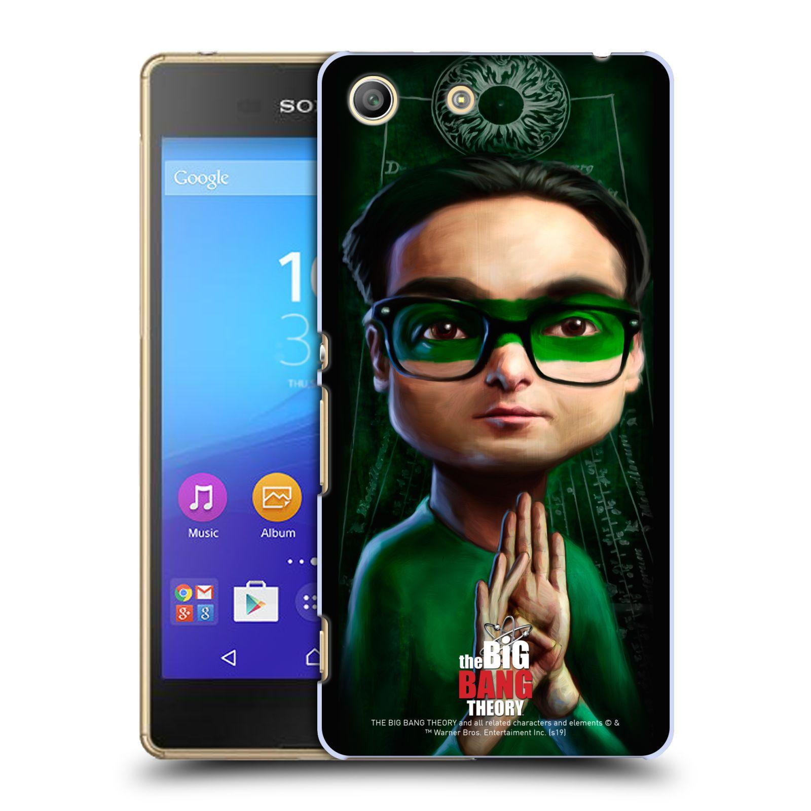 Pouzdro na mobil Sony Xperia M5 - HEAD CASE - Big Bang Theory - Leonard Hofstadter