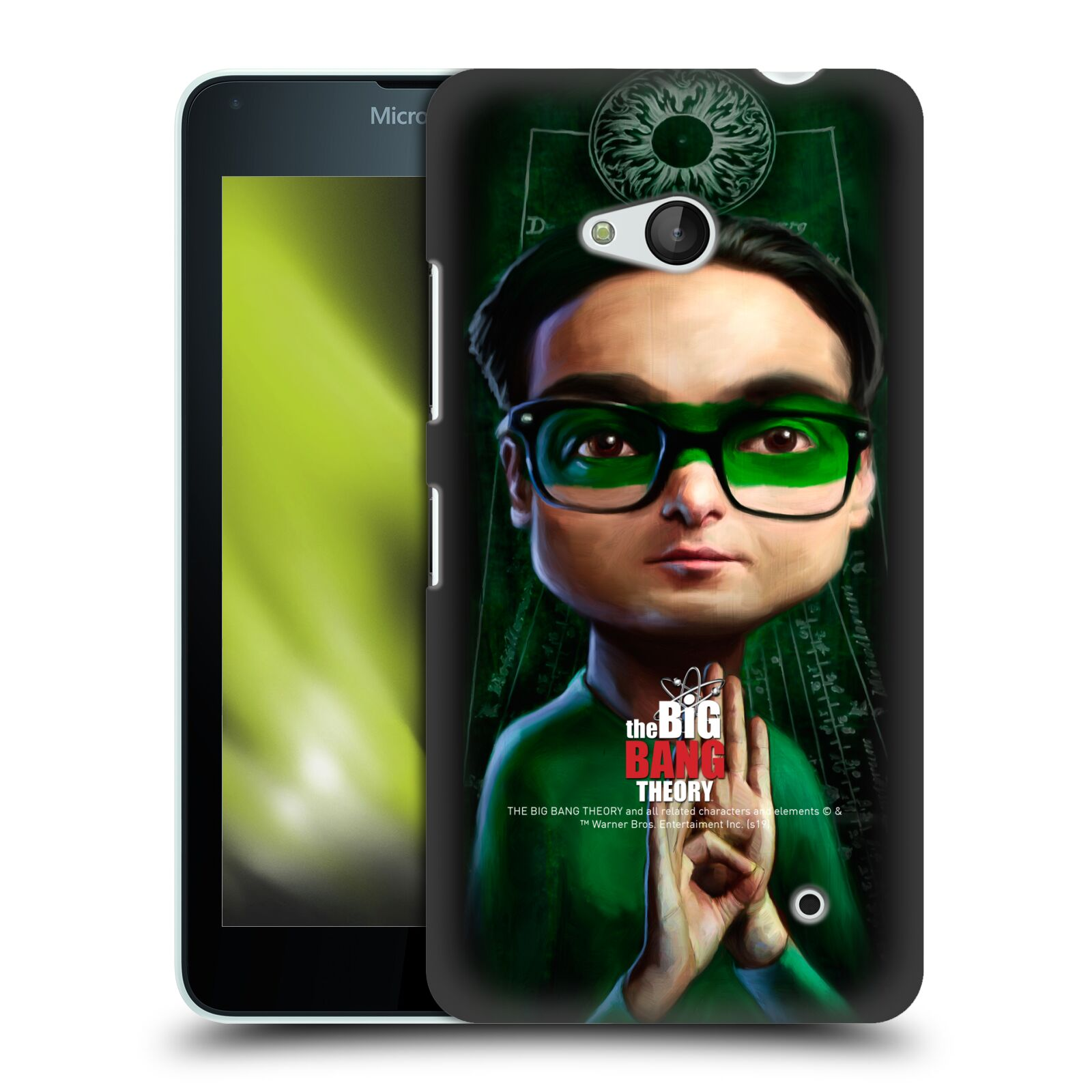 Pouzdro na mobil Microsoft Lumia 640 / 640 DUAL SIM - HEAD CASE - Big Bang Theory - Leonard Hofstadter