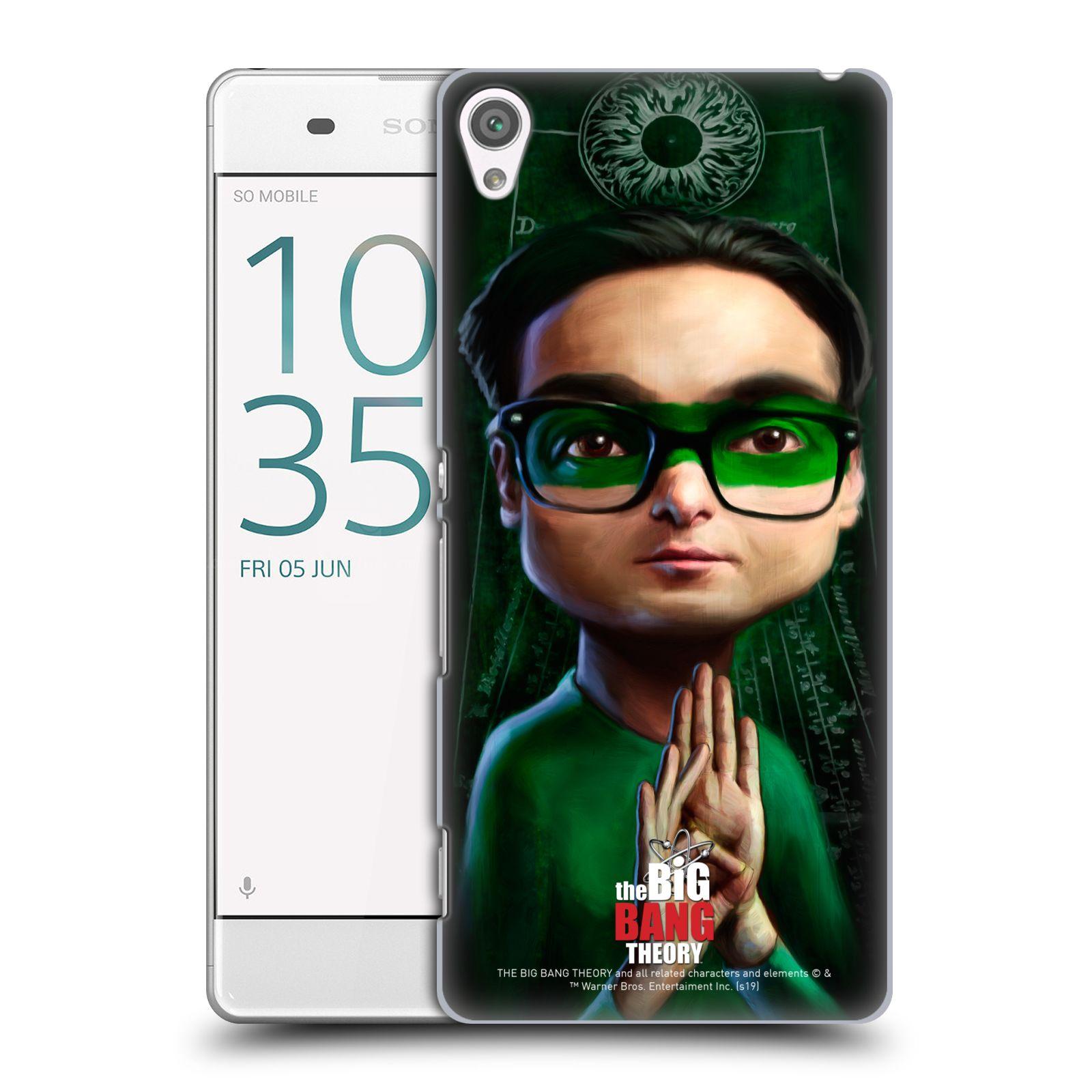 Pouzdro na mobil Sony Xperia XA - HEAD CASE - Big Bang Theory - Leonard Hofstadter