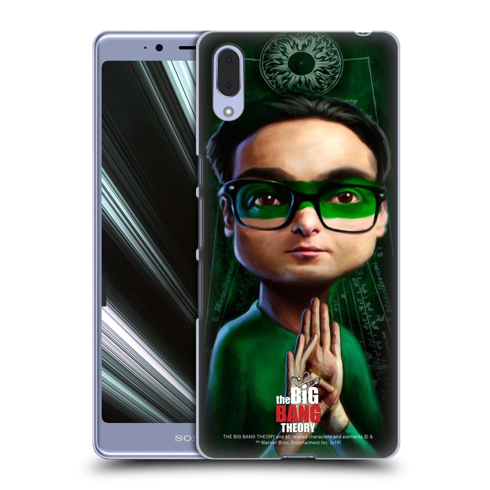 Pouzdro na mobil Sony Xperia L3 - HEAD CASE - Big Bang Theory - Leonard Hofstadter