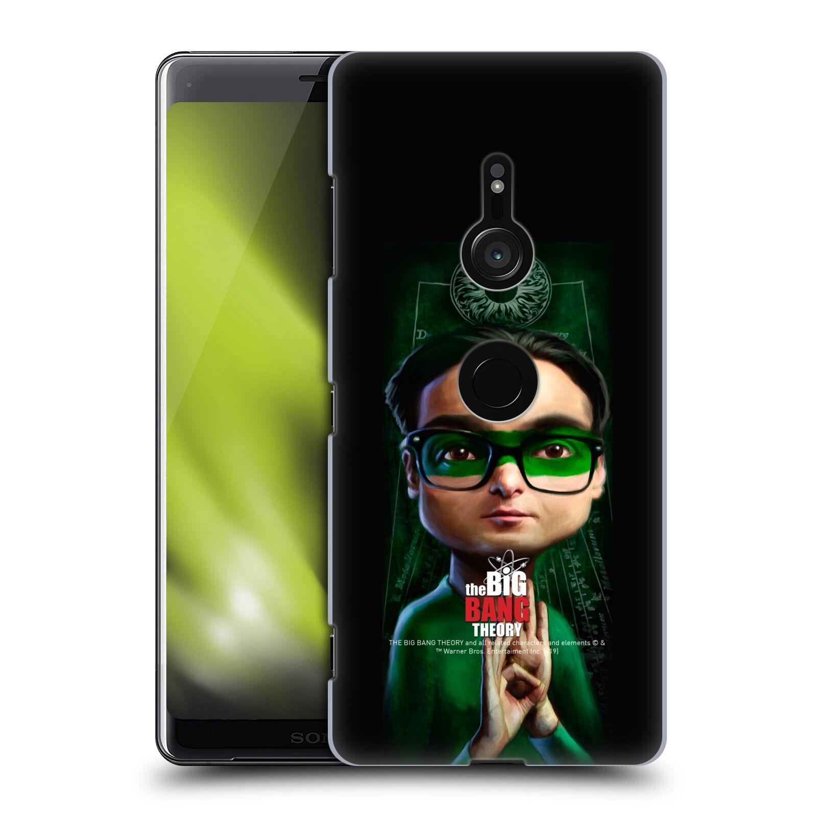 Pouzdro na mobil Sony Xperia XZ3 - HEAD CASE - Big Bang Theory - Leonard Hofstadter
