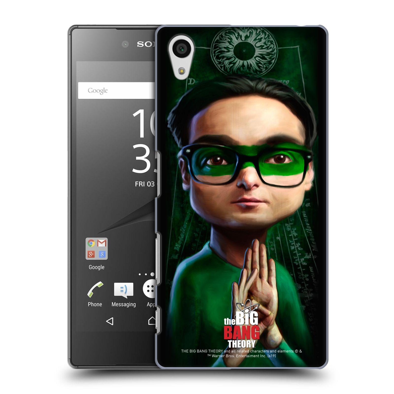 Pouzdro na mobil Sony Xperia Z5 - HEAD CASE - Big Bang Theory - Leonard Hofstadter