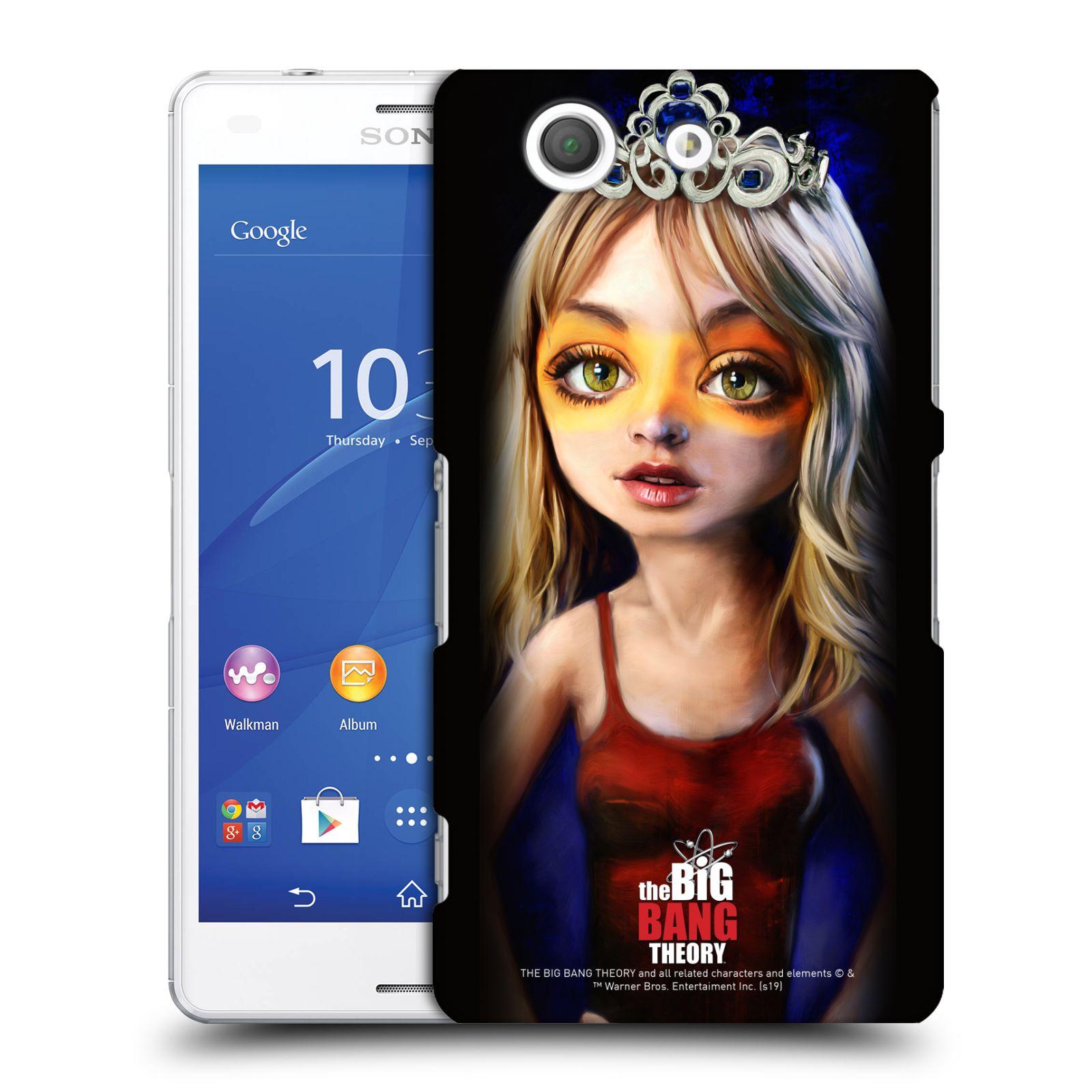 Pouzdro na mobil Sony Xperia Z3 COMPACT - HEAD CASE - Big Bang Theory - Penny