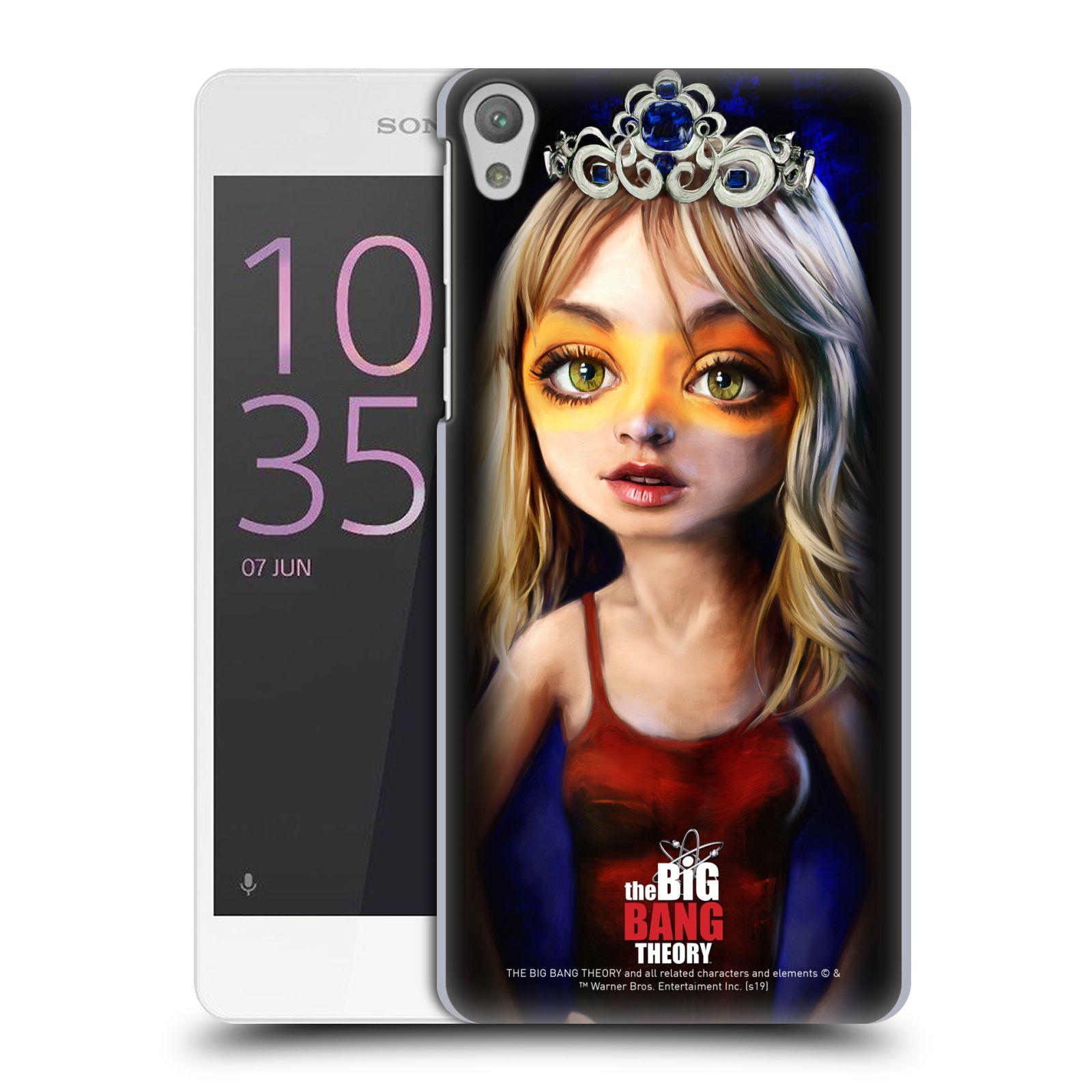 Pouzdro na mobil Sony Xperia E5 - HEAD CASE - Big Bang Theory - Penny
