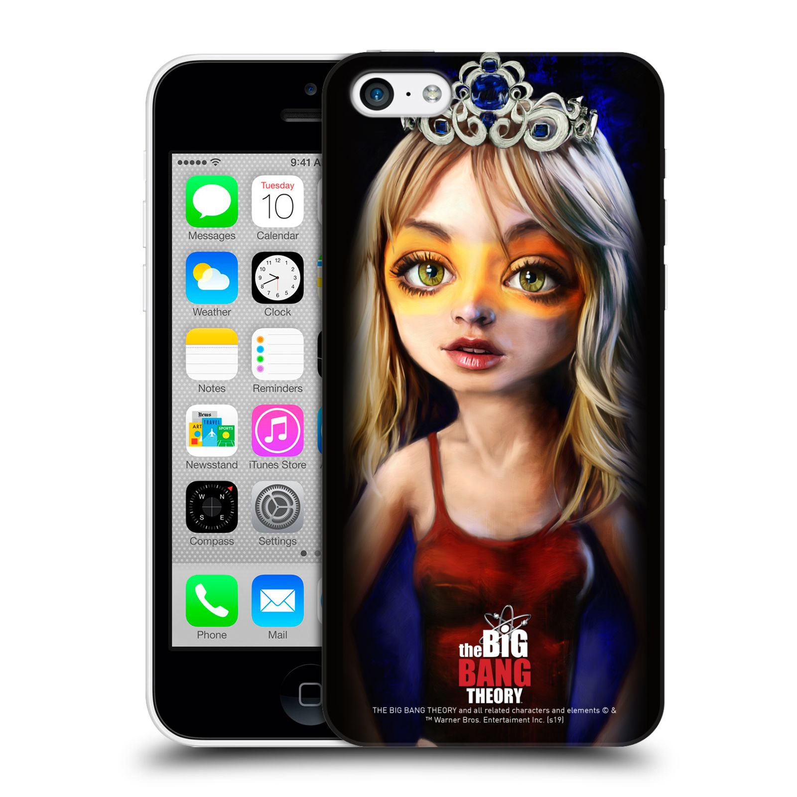 Pouzdro na mobil Apple Iphone 5C - HEAD CASE - Big Bang Theory - Penny