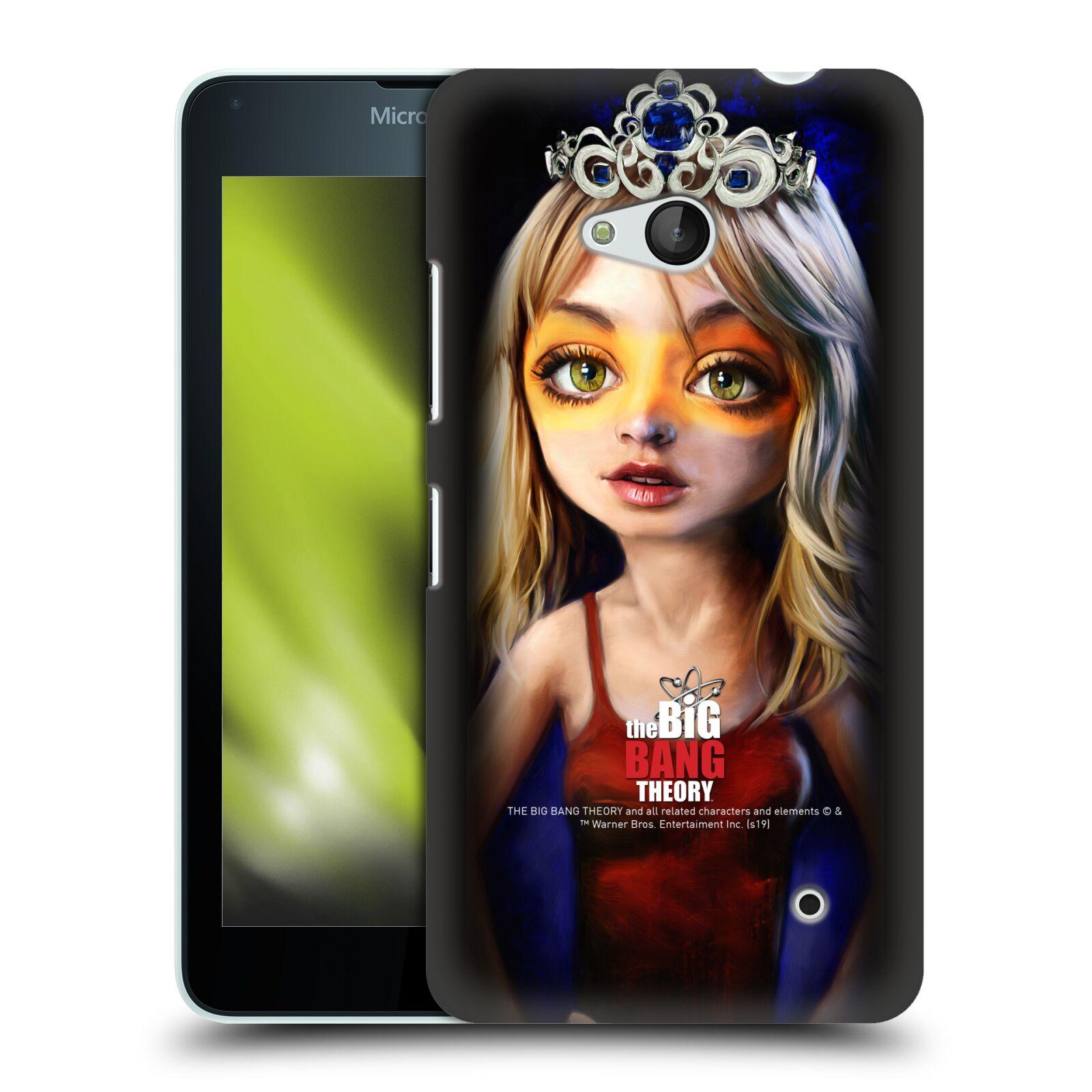 Pouzdro na mobil Microsoft Lumia 640 / 640 DUAL SIM - HEAD CASE - Big Bang Theory - Penny