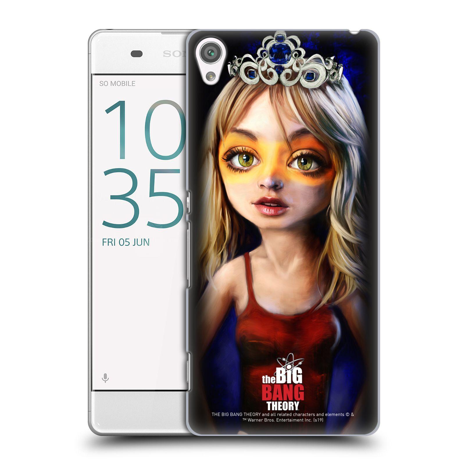 Pouzdro na mobil Sony Xperia XA - HEAD CASE - Big Bang Theory - Penny