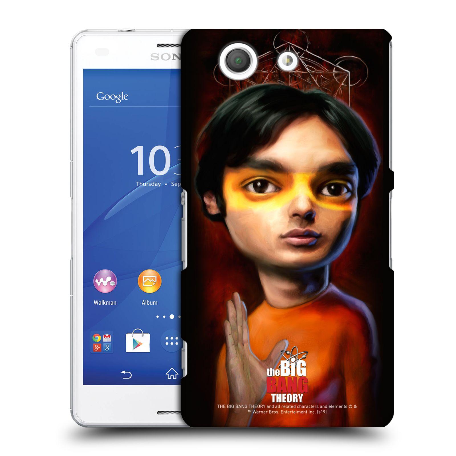 Pouzdro na mobil Sony Xperia Z3 COMPACT - HEAD CASE - Big Bang Theory - Raj Koothrappali