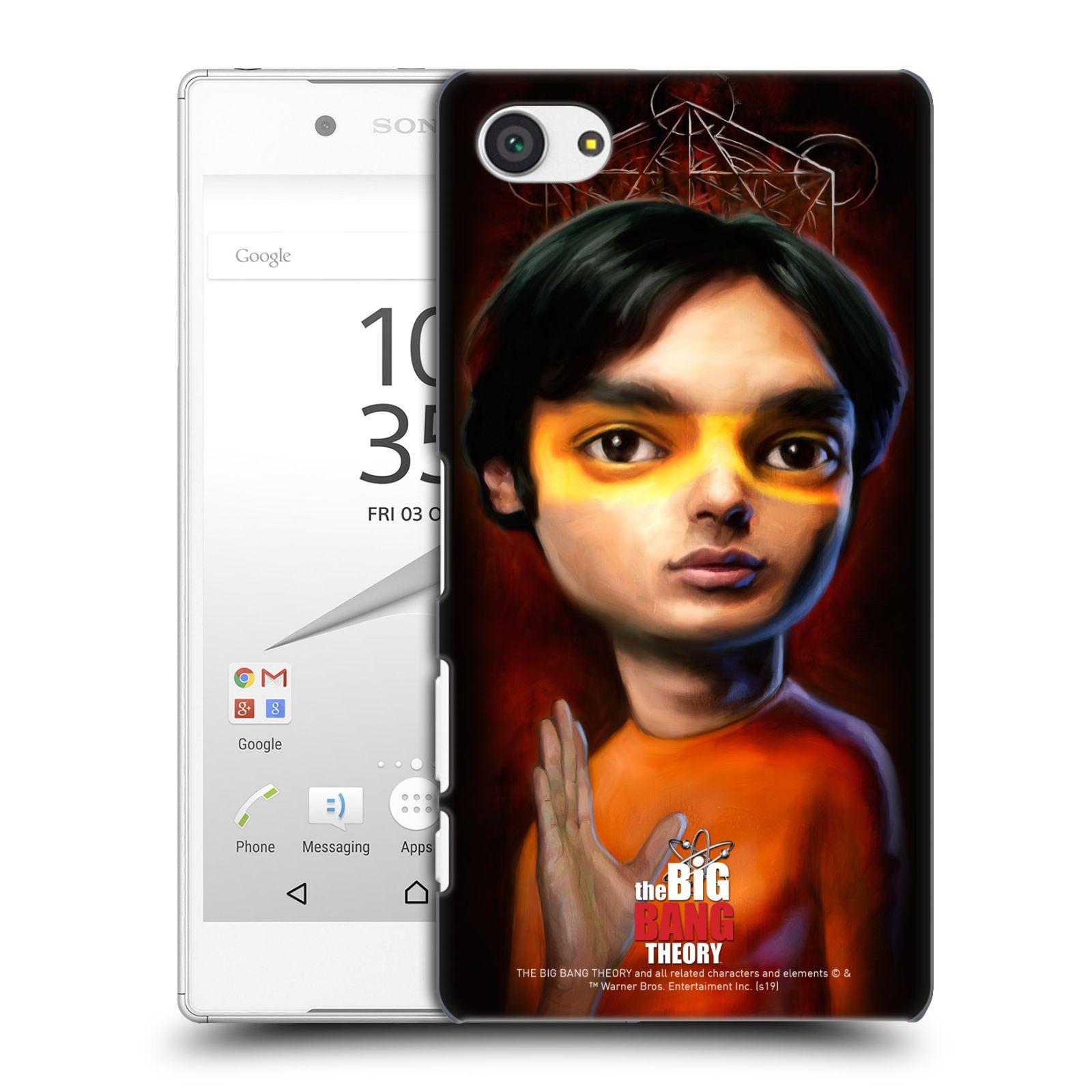 Pouzdro na mobil Sony Xperia Z5 COMPACT - HEAD CASE - Big Bang Theory - Raj Koothrappali