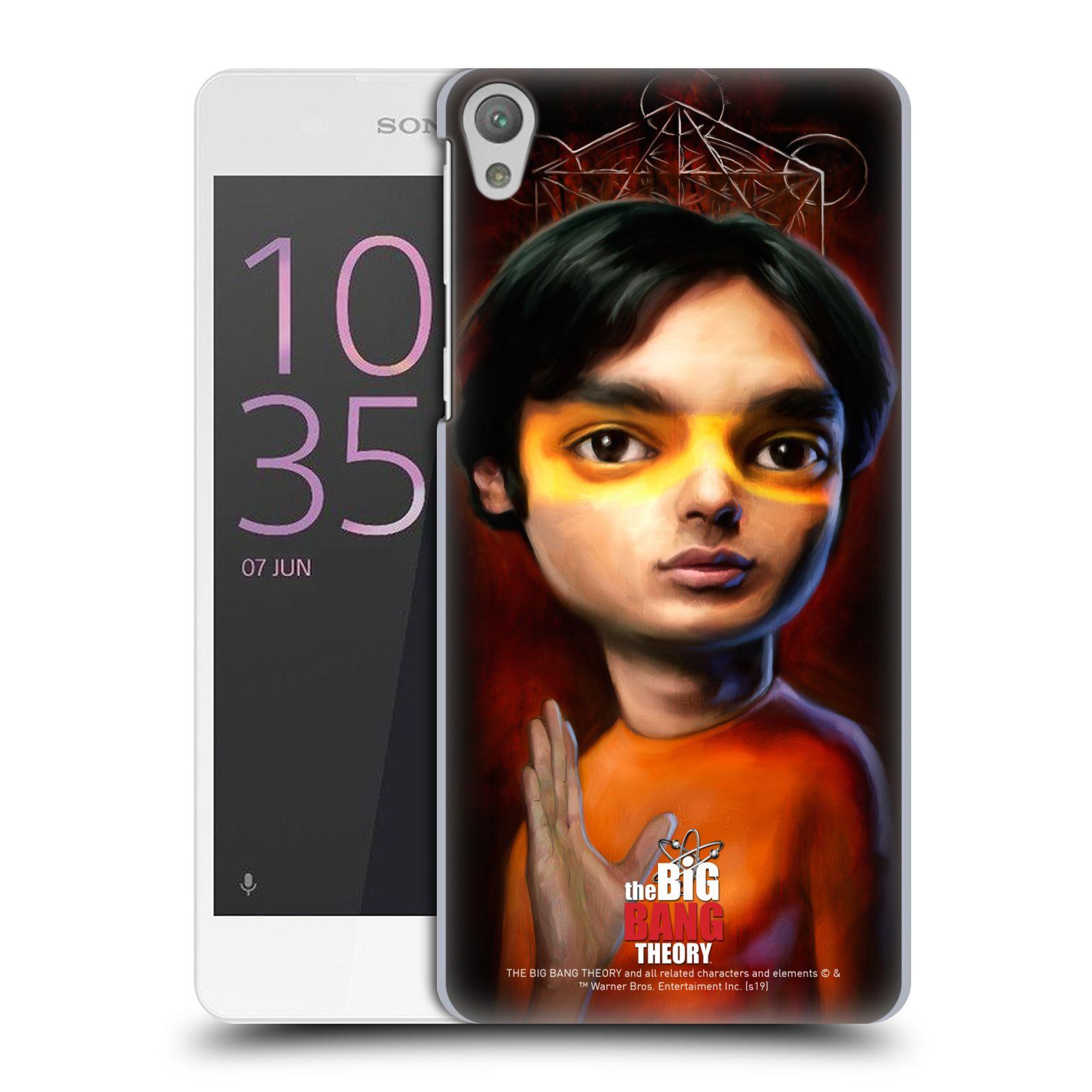 Pouzdro na mobil Sony Xperia E5 - HEAD CASE - Big Bang Theory - Raj Koothrappali