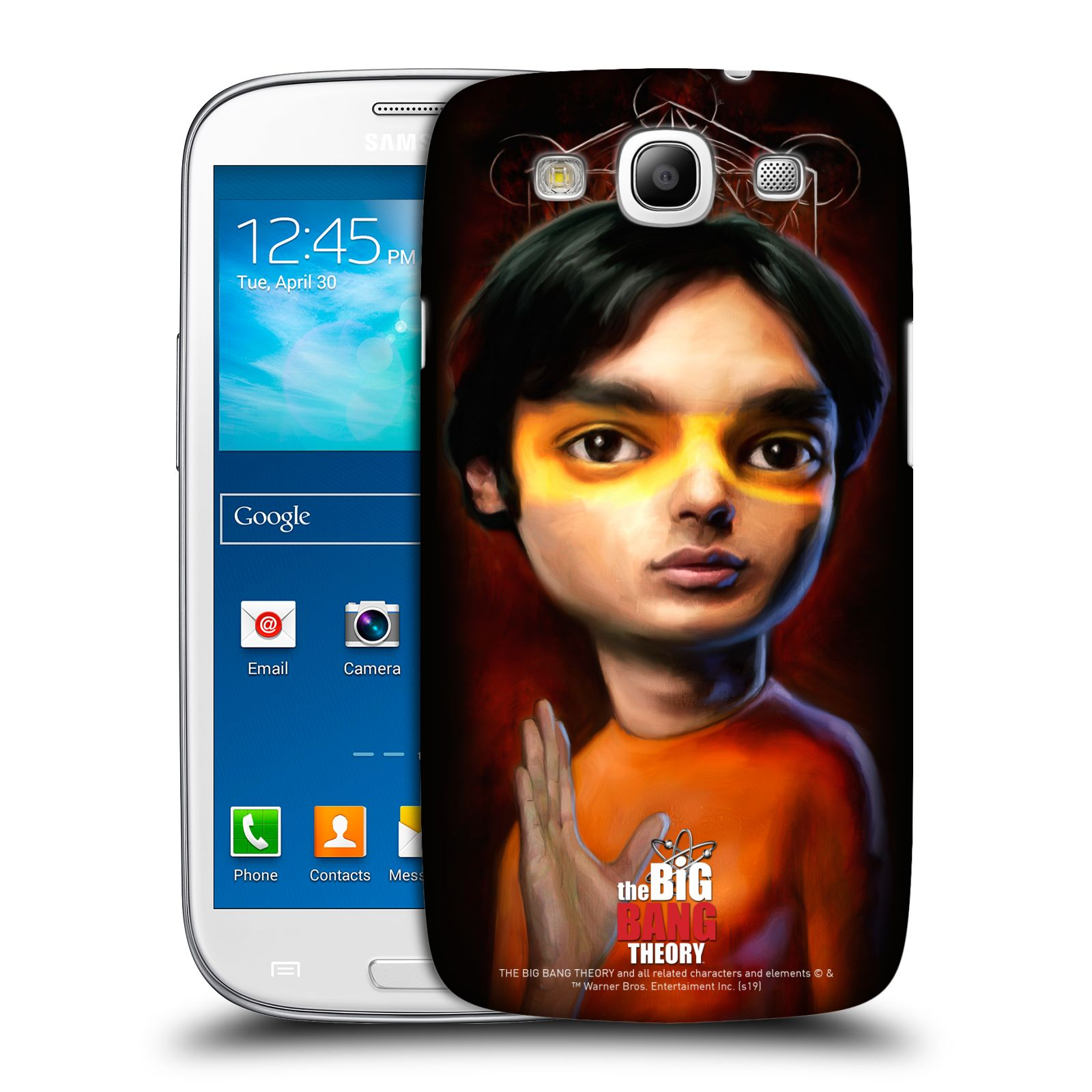 Pouzdro na mobil Samsung Galaxy S3 - HEAD CASE - Big Bang Theory - Raj Koothrappali