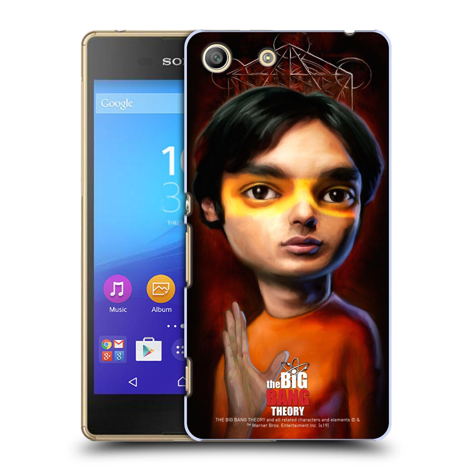 Pouzdro na mobil Sony Xperia M5 - HEAD CASE - Big Bang Theory - Raj Koothrappali
