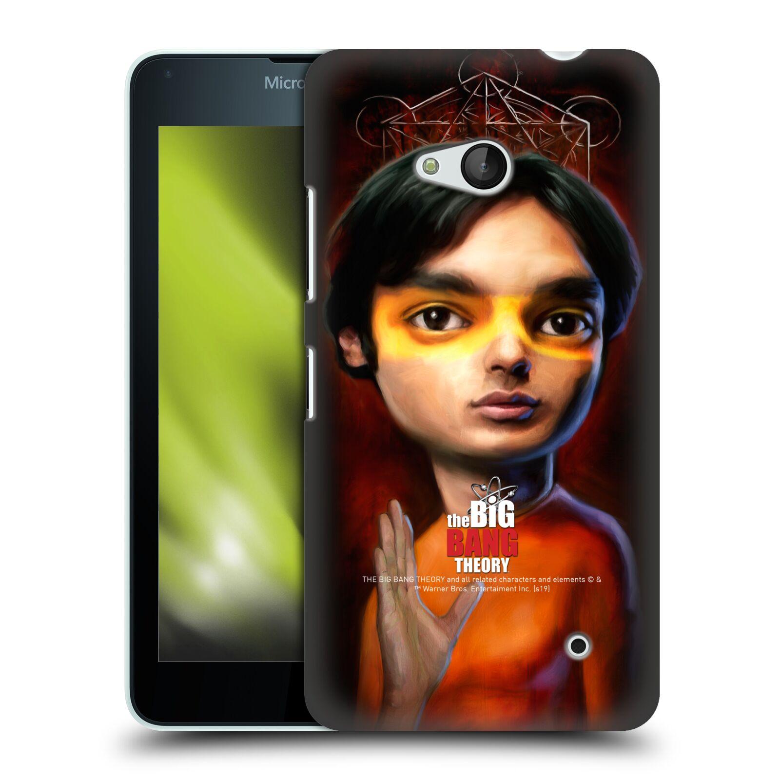 Pouzdro na mobil Microsoft Lumia 640 / 640 DUAL SIM - HEAD CASE - Big Bang Theory - Raj Koothrappali