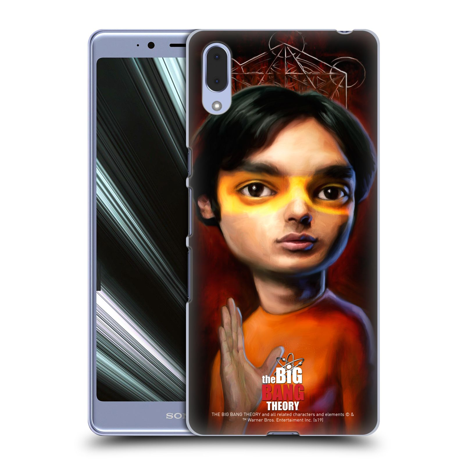 Pouzdro na mobil Sony Xperia L3 - HEAD CASE - Big Bang Theory - Raj Koothrappali