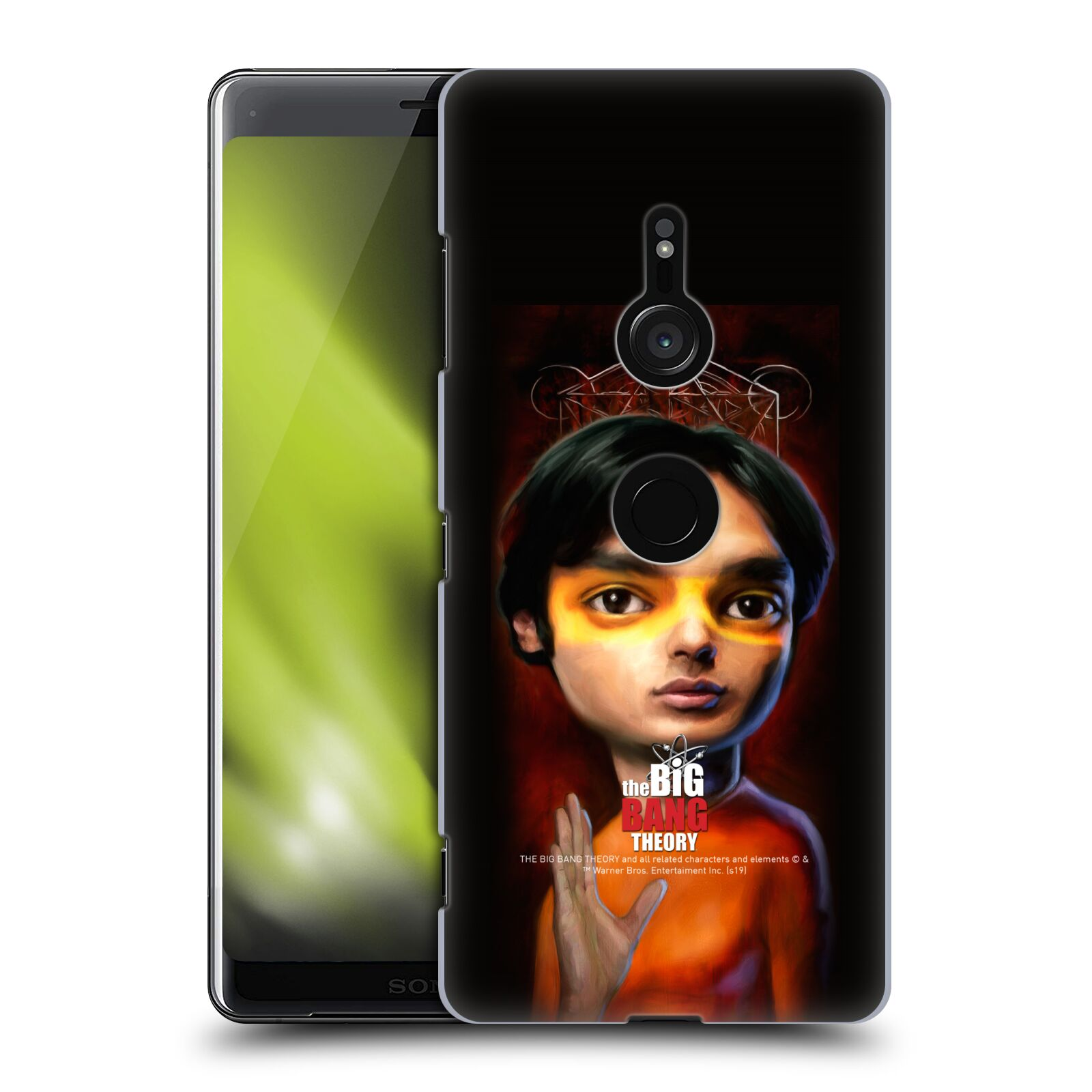 Pouzdro na mobil Sony Xperia XZ3 - HEAD CASE - Big Bang Theory - Raj Koothrappali