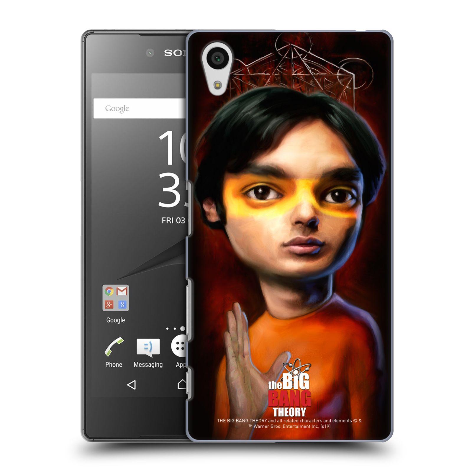 Pouzdro na mobil Sony Xperia Z5 - HEAD CASE - Big Bang Theory - Raj Koothrappali