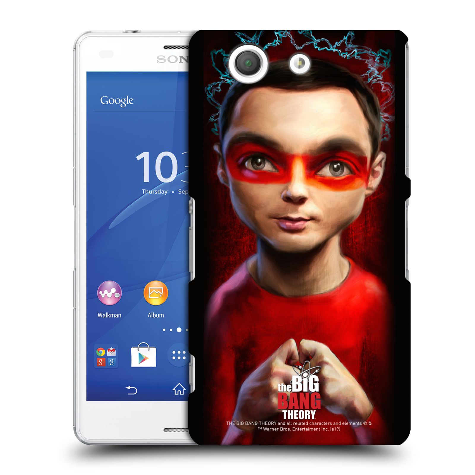 Pouzdro na mobil Sony Xperia Z3 COMPACT - HEAD CASE - Big Bang Theory - Sheldon Cooper