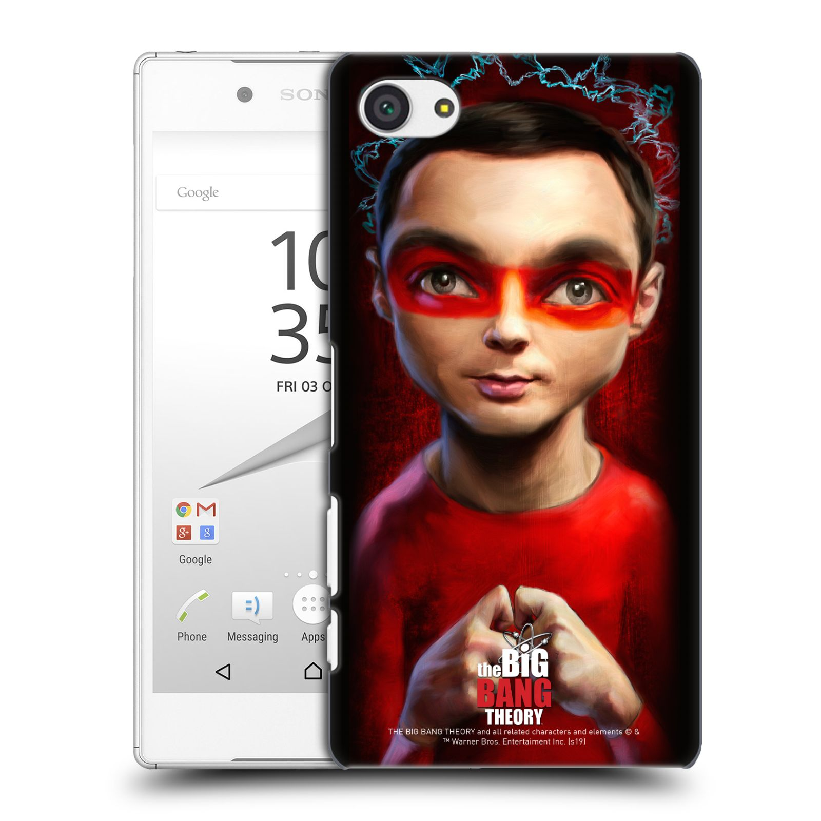 Pouzdro na mobil Sony Xperia Z5 COMPACT - HEAD CASE - Big Bang Theory - Sheldon Cooper