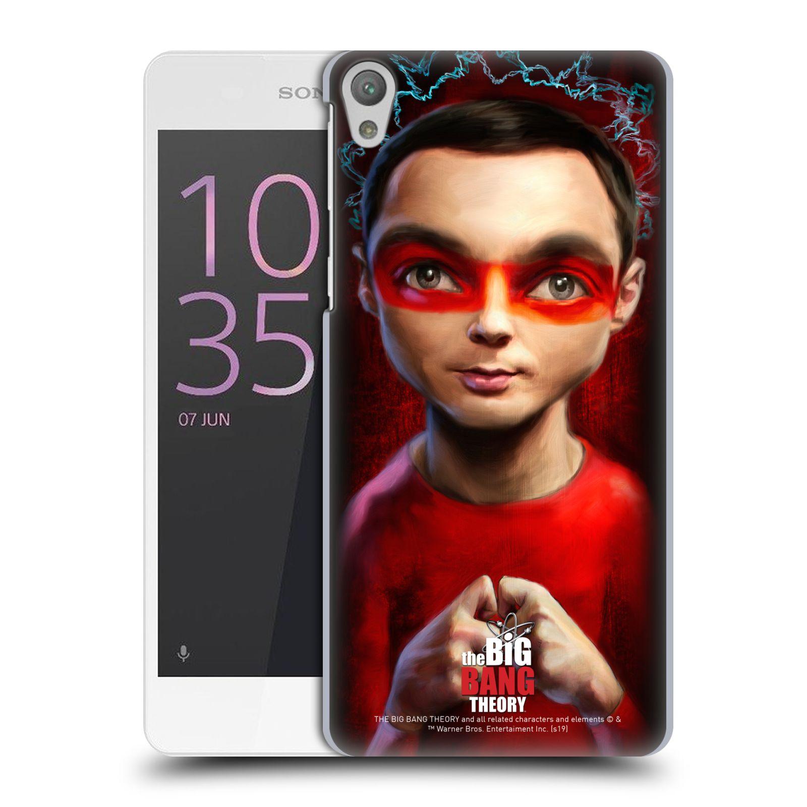 Pouzdro na mobil Sony Xperia E5 - HEAD CASE - Big Bang Theory - Sheldon Cooper