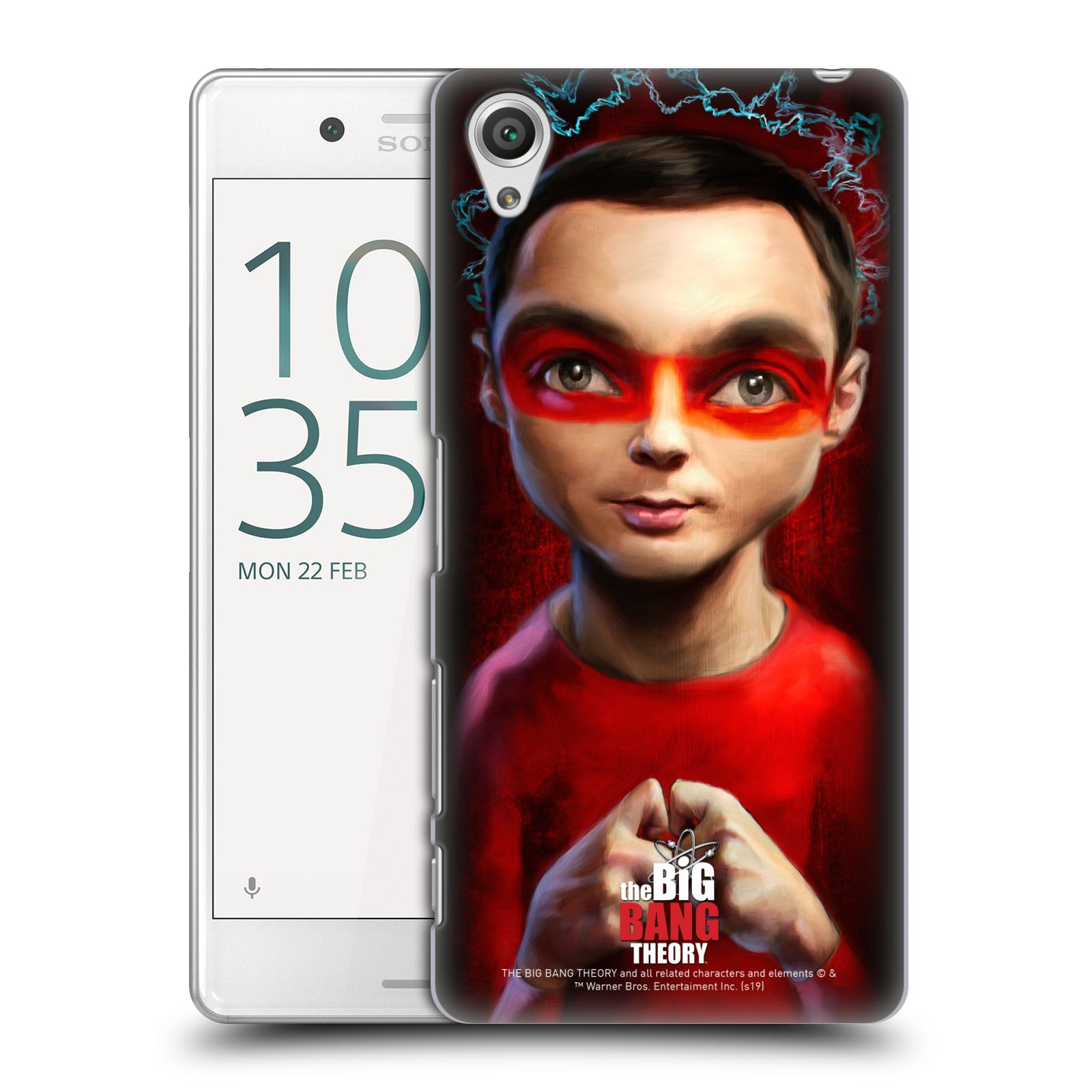 Pouzdro na mobil Sony Xperia X PERFORMANCE - HEAD CASE - Big Bang Theory - Sheldon Cooper