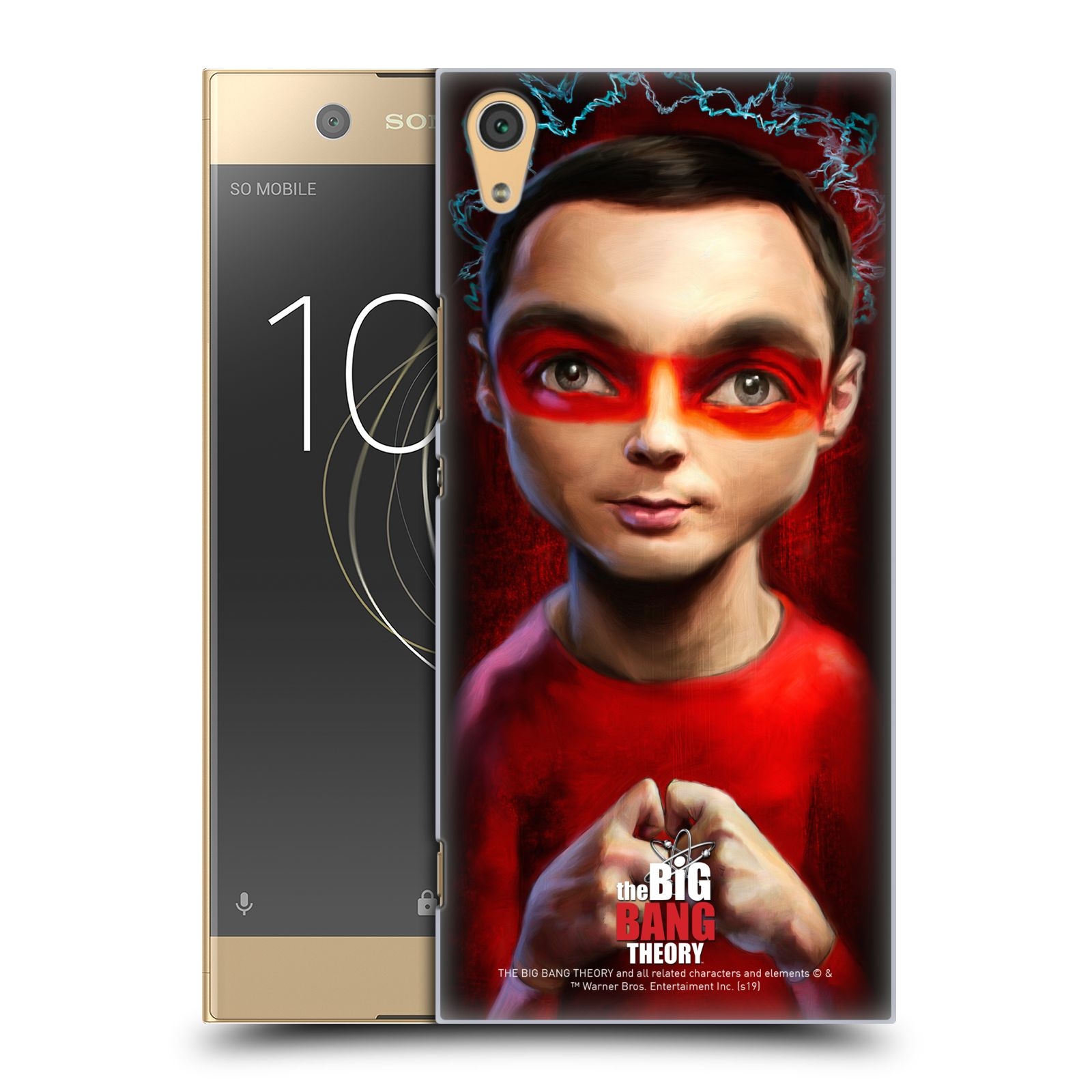Pouzdro na mobil Sony Xperia XA1 ULTRA - HEAD CASE - Big Bang Theory - Sheldon Cooper