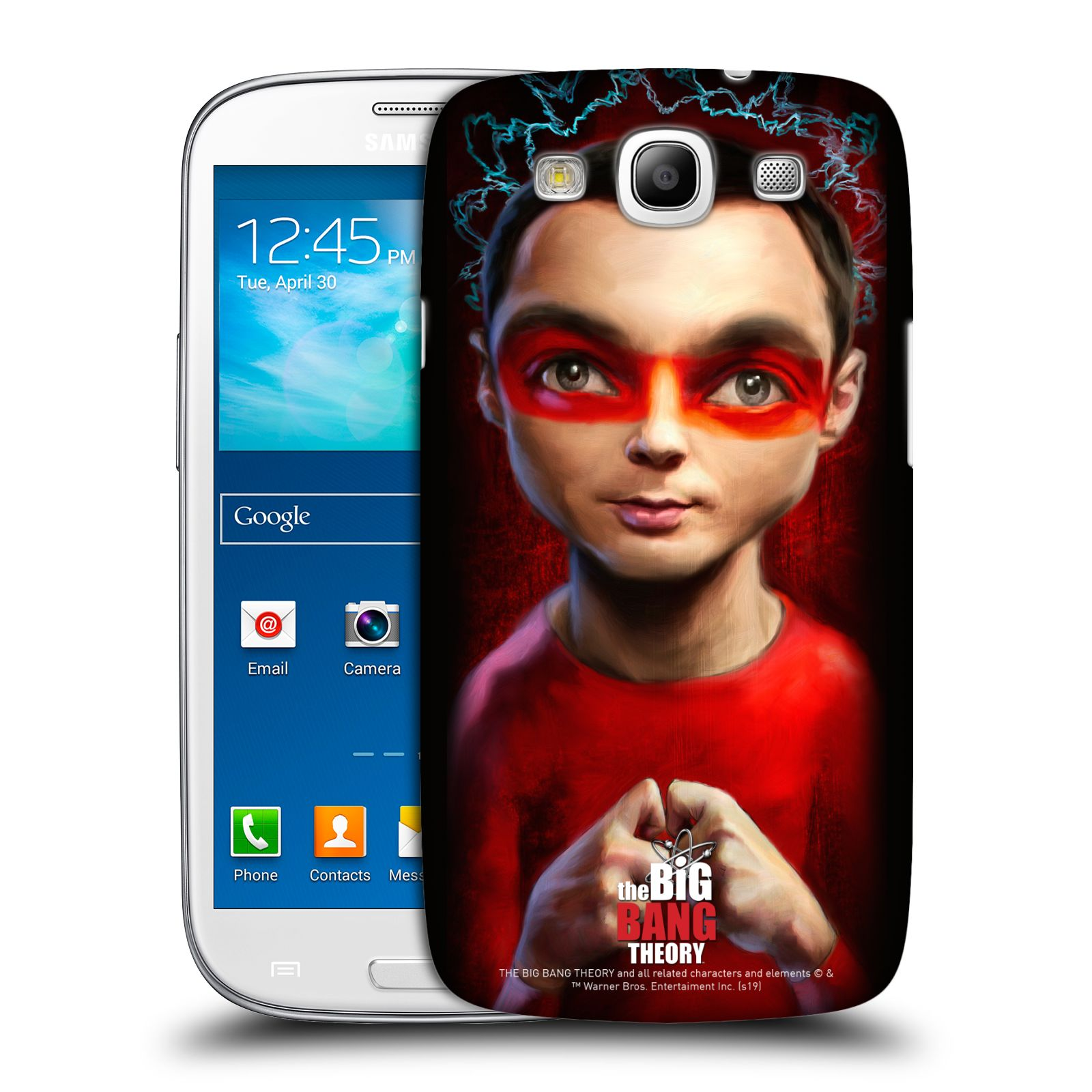 Pouzdro na mobil Samsung Galaxy S3 - HEAD CASE - Big Bang Theory - Sheldon Cooper
