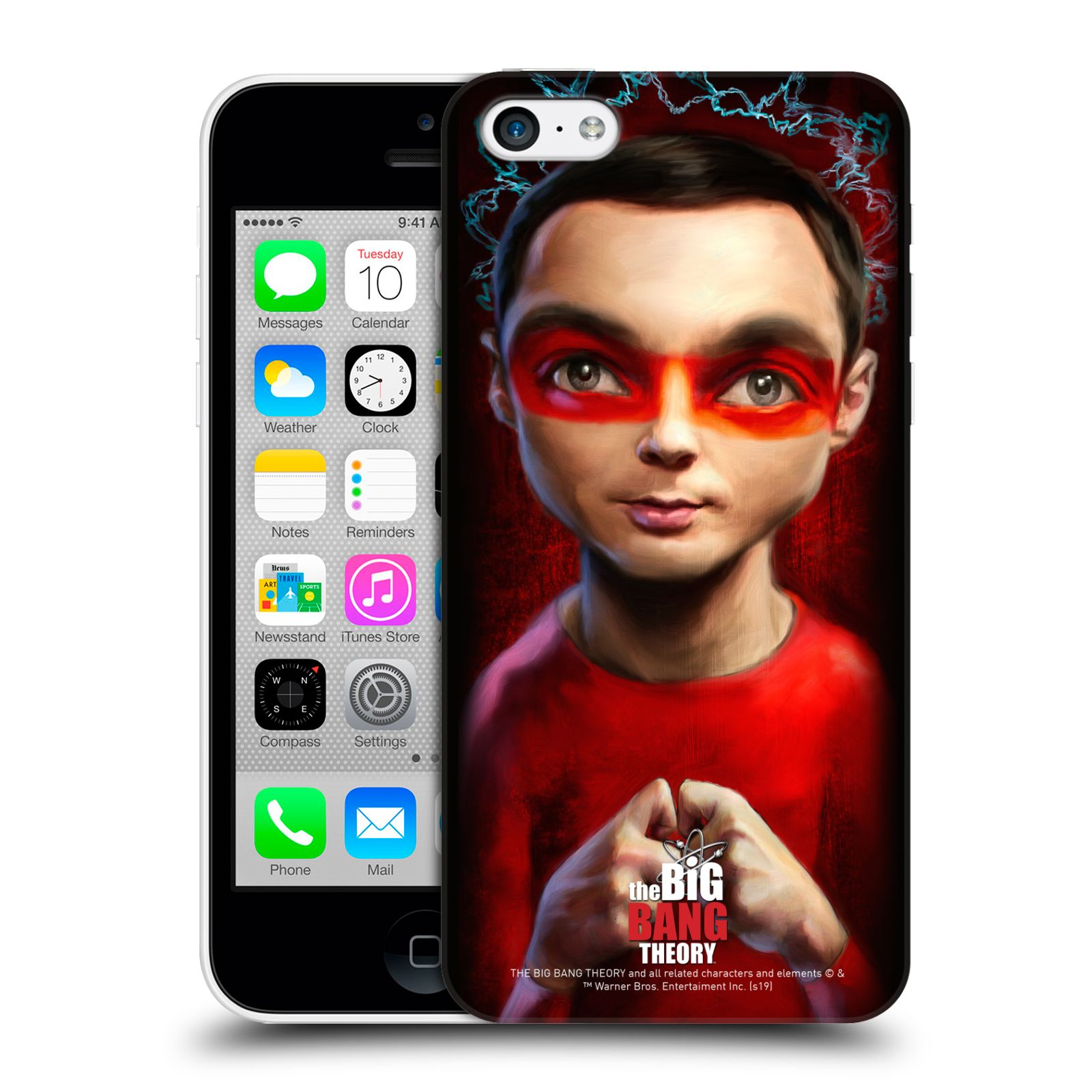 Pouzdro na mobil Apple Iphone 5C - HEAD CASE - Big Bang Theory - Sheldon Cooper