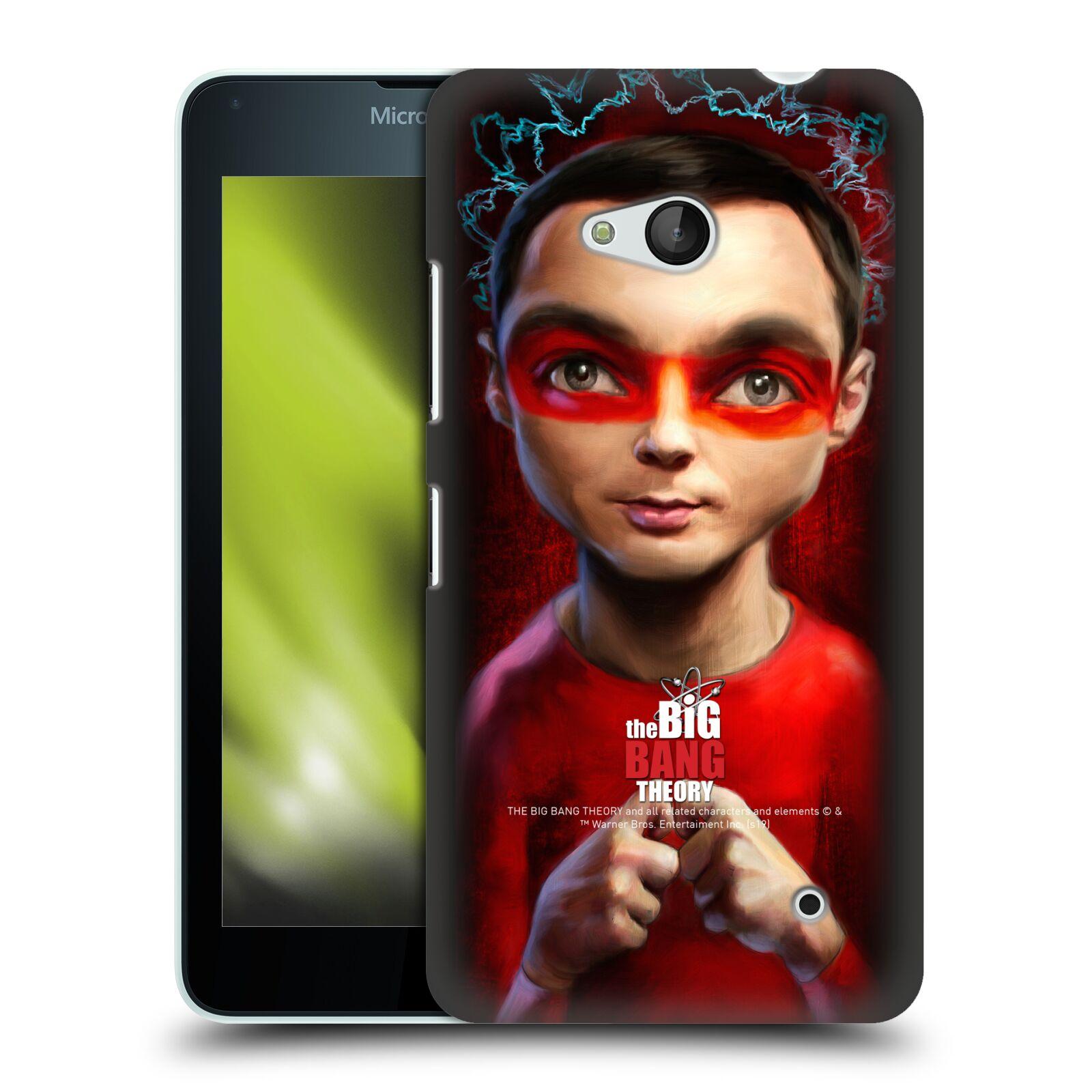 Pouzdro na mobil Microsoft Lumia 640 / 640 DUAL SIM - HEAD CASE - Big Bang Theory - Sheldon Cooper