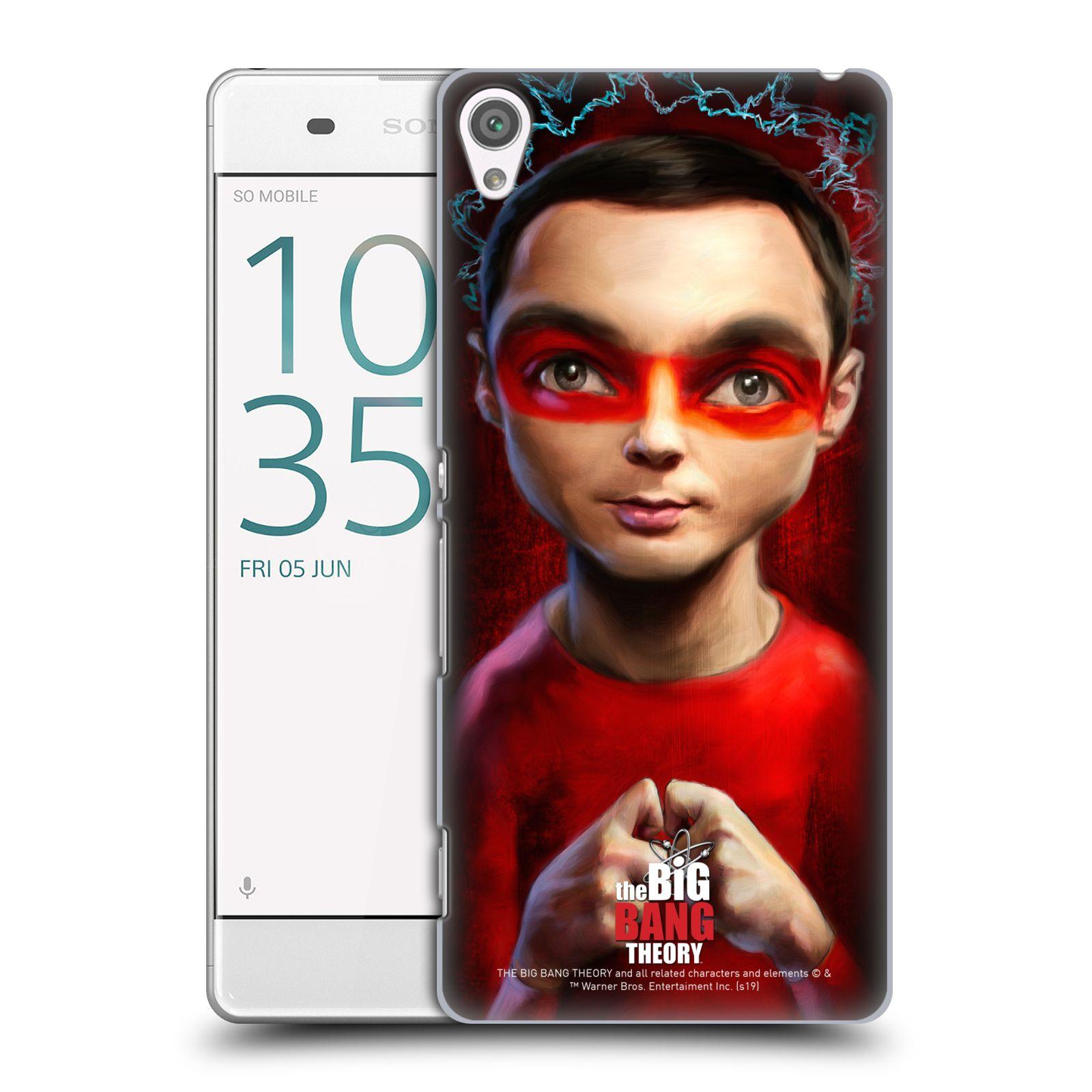 Pouzdro na mobil Sony Xperia XA - HEAD CASE - Big Bang Theory - Sheldon Cooper