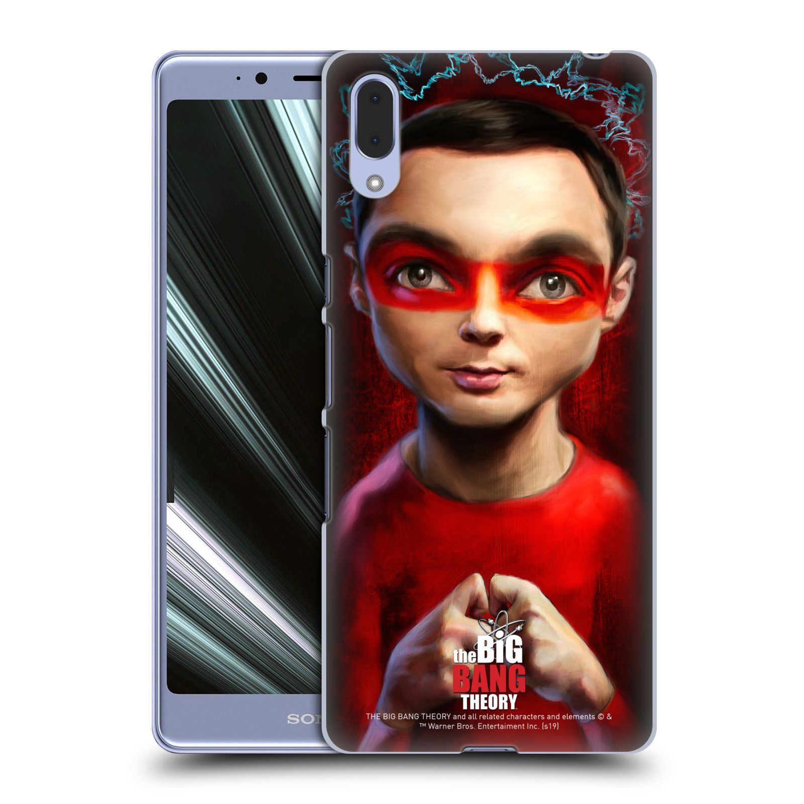 Pouzdro na mobil Sony Xperia L3 - HEAD CASE - Big Bang Theory - Sheldon Cooper