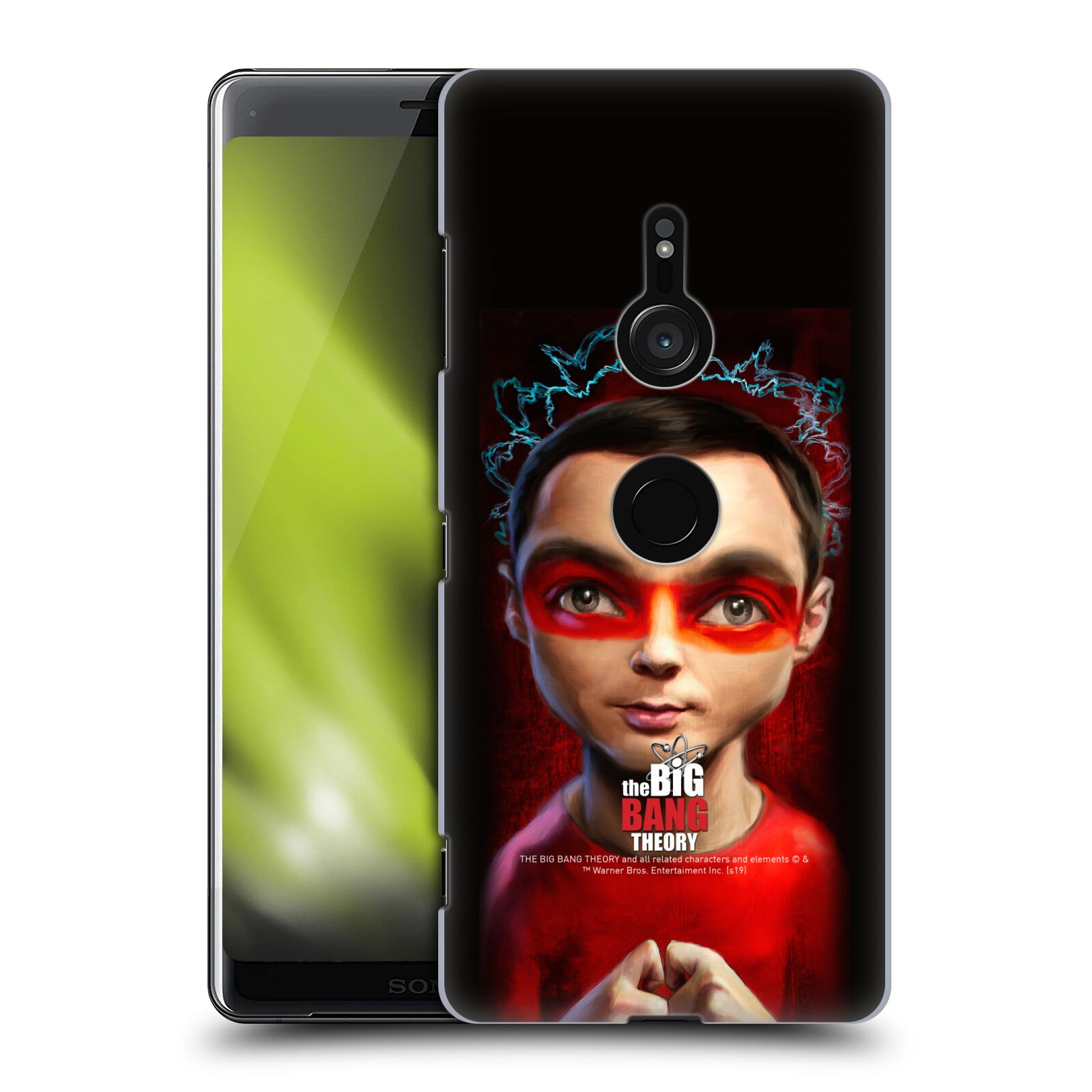 Pouzdro na mobil Sony Xperia XZ3 - HEAD CASE - Big Bang Theory - Sheldon Cooper