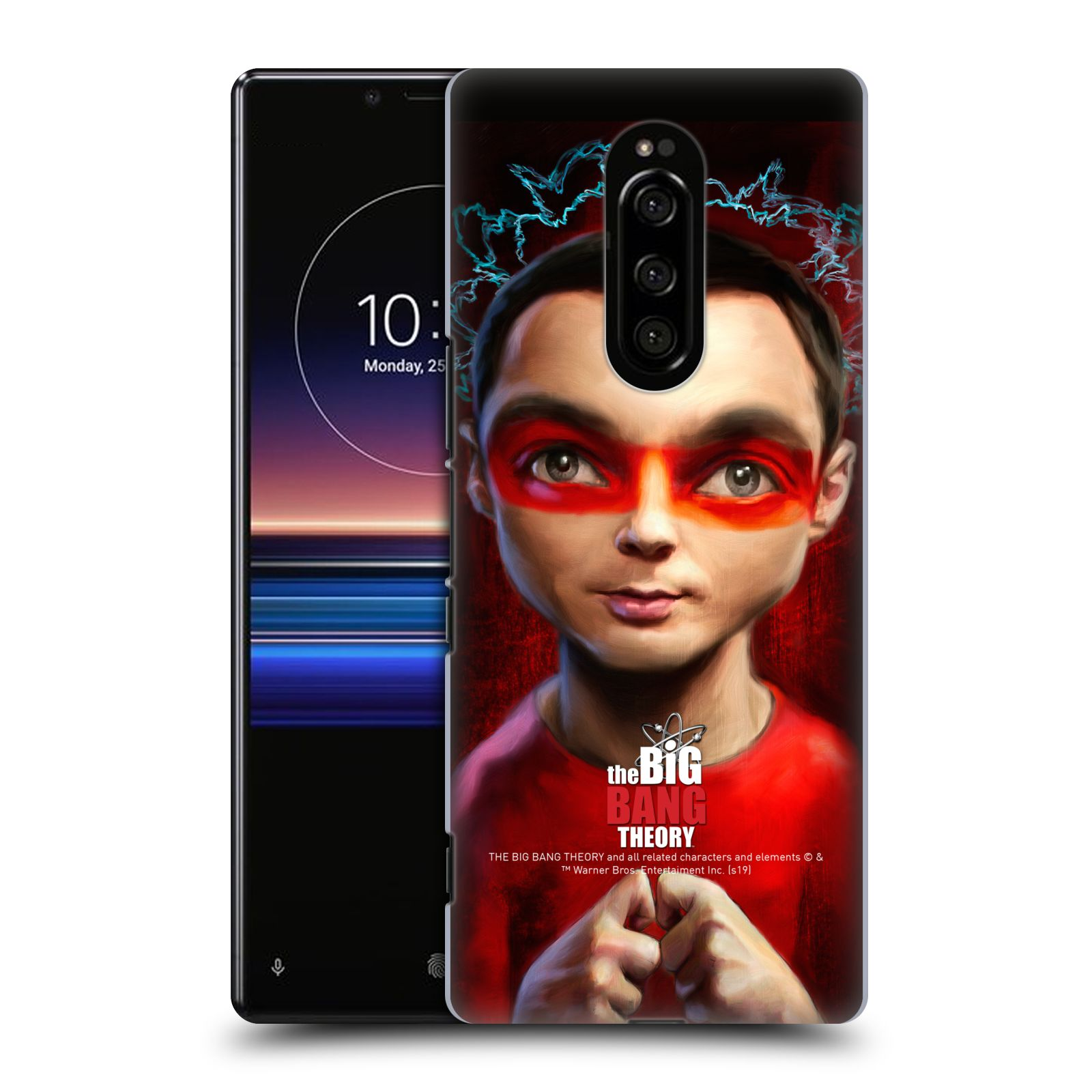 Pouzdro na mobil Sony Xperia 1 - HEAD CASE - Big Bang Theory - Sheldon Cooper