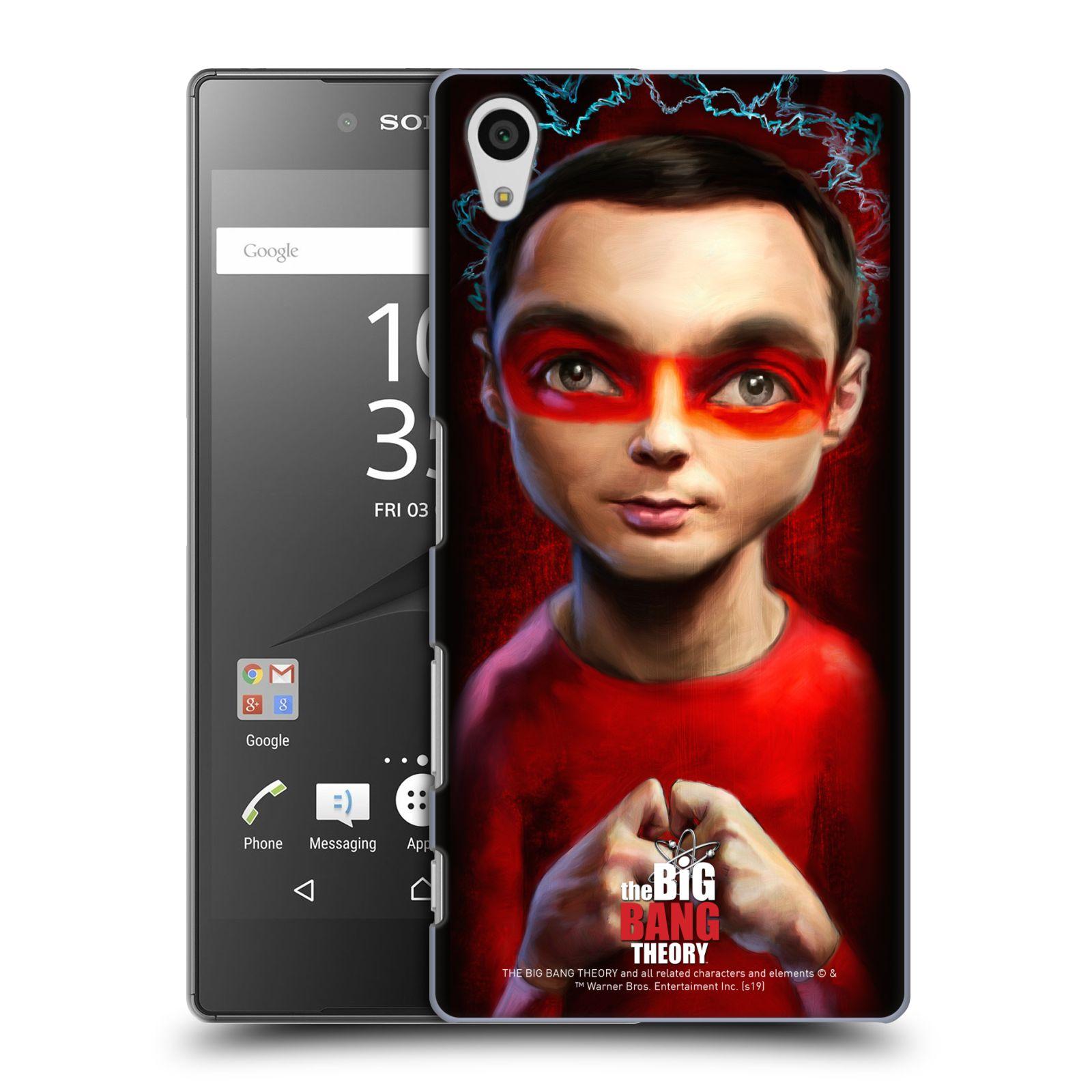 Pouzdro na mobil Sony Xperia Z5 - HEAD CASE - Big Bang Theory - Sheldon Cooper