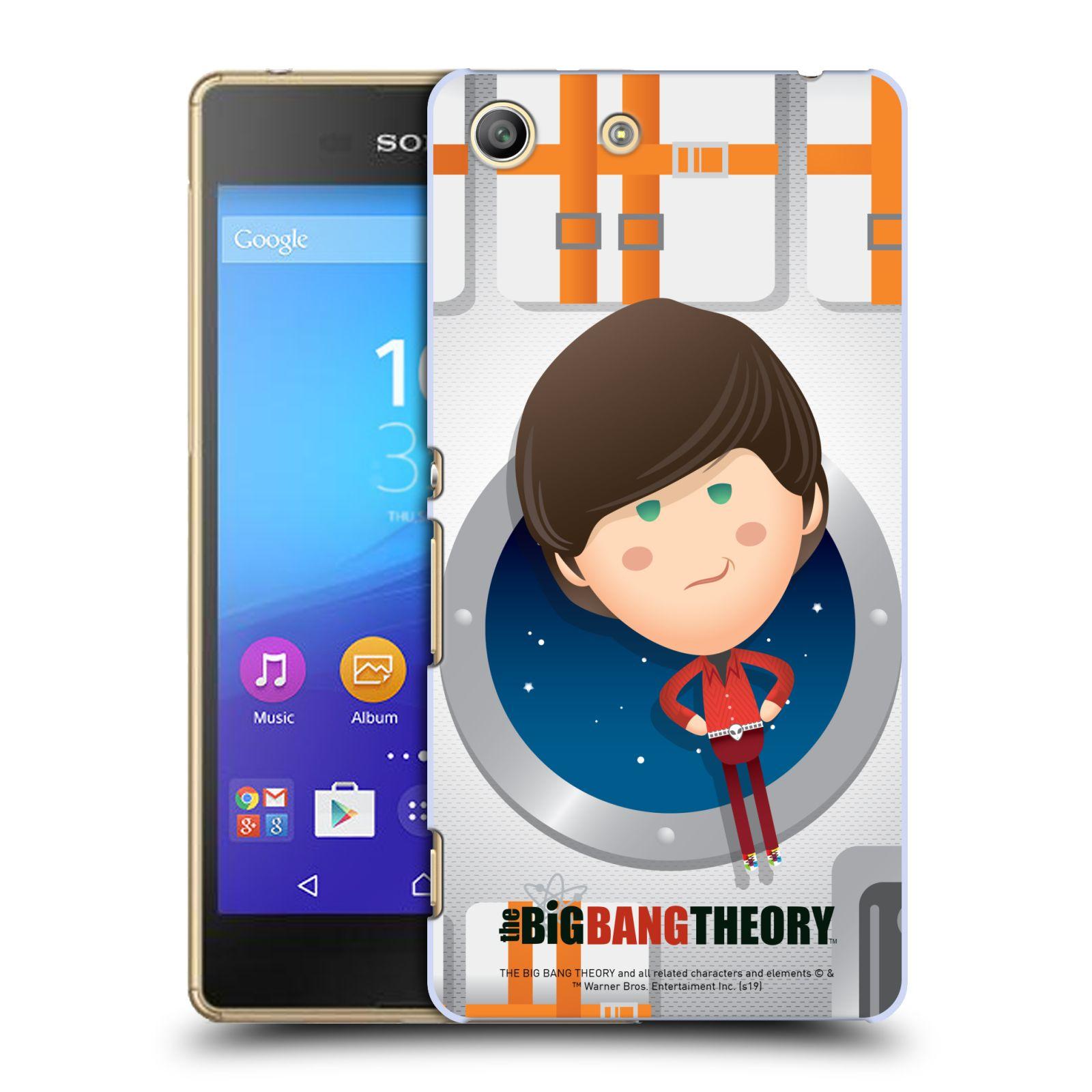 Pouzdro na mobil Sony Xperia M5 - HEAD CASE - Big Bang Theory - kreslený Howard