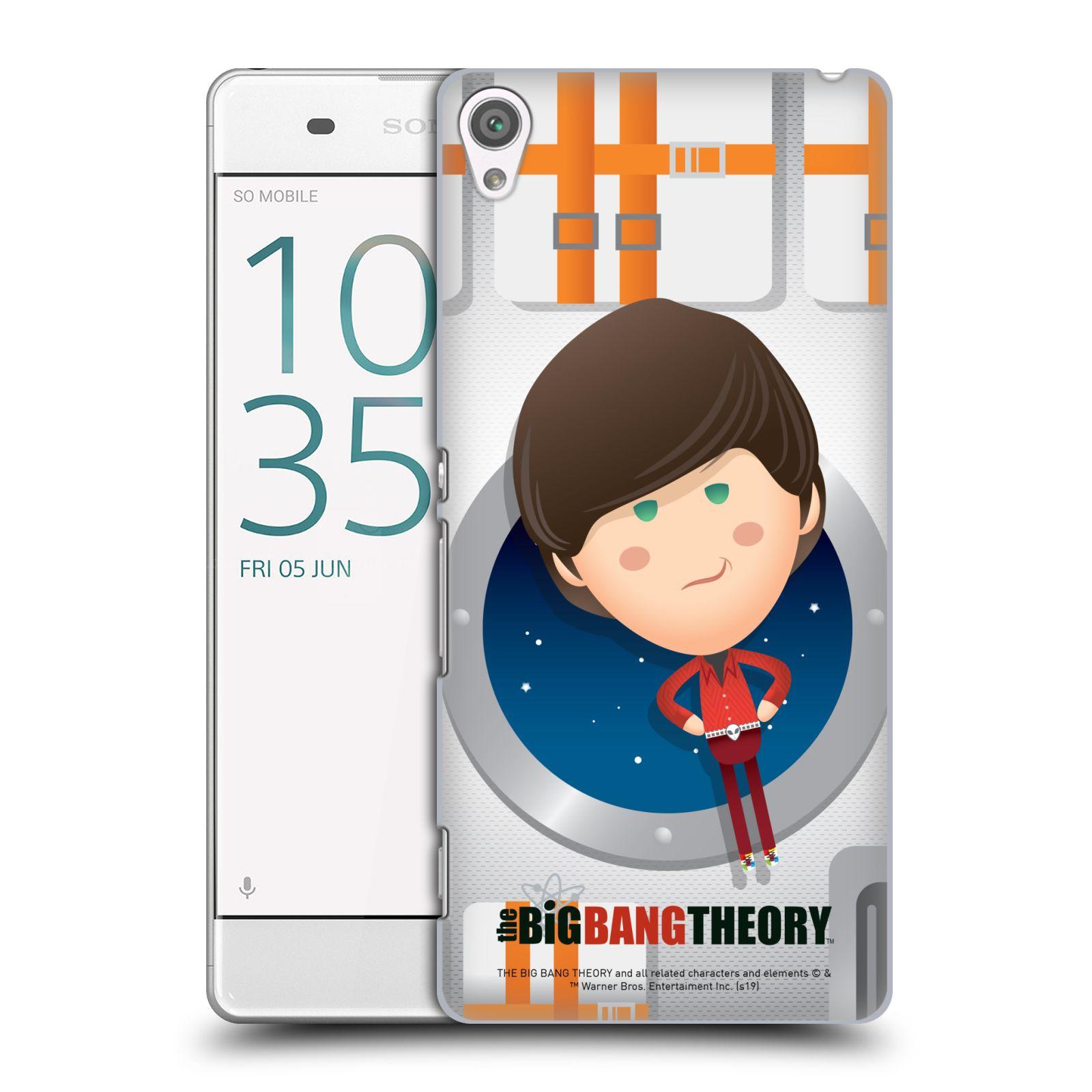 Pouzdro na mobil Sony Xperia XA - HEAD CASE - Big Bang Theory - kreslený Howard