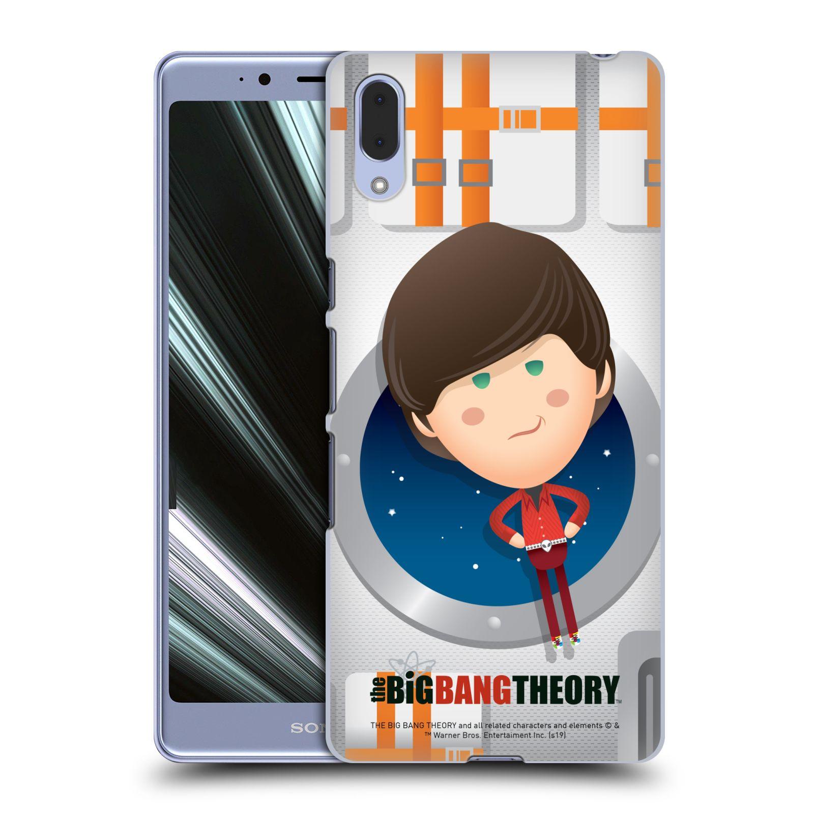Pouzdro na mobil Sony Xperia L3 - HEAD CASE - Big Bang Theory - kreslený Howard