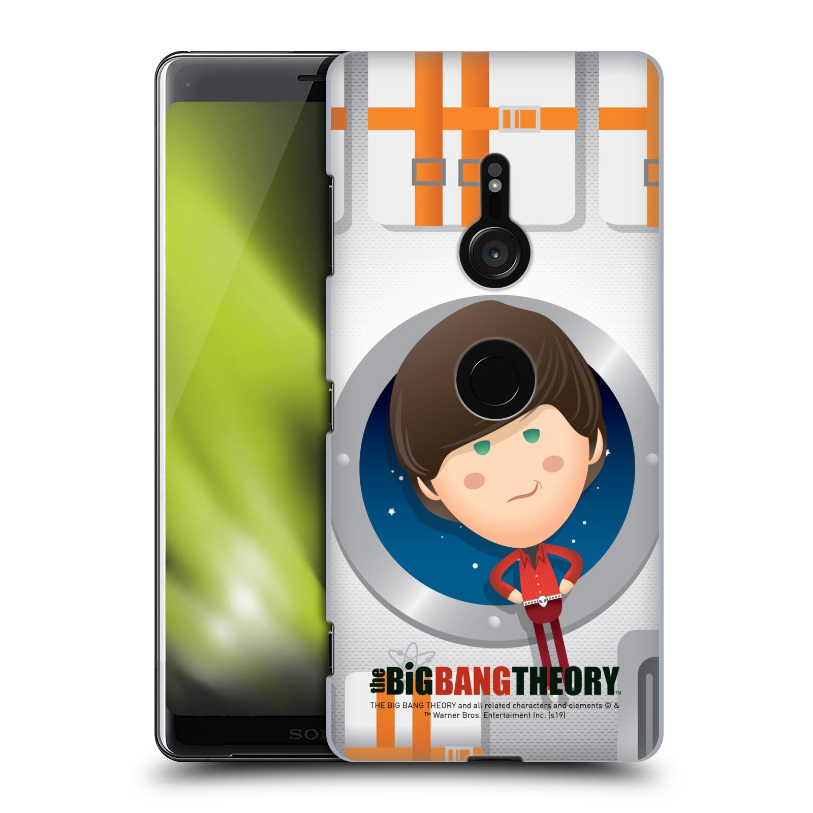 Pouzdro na mobil Sony Xperia XZ3 - HEAD CASE - Big Bang Theory - kreslený Howard