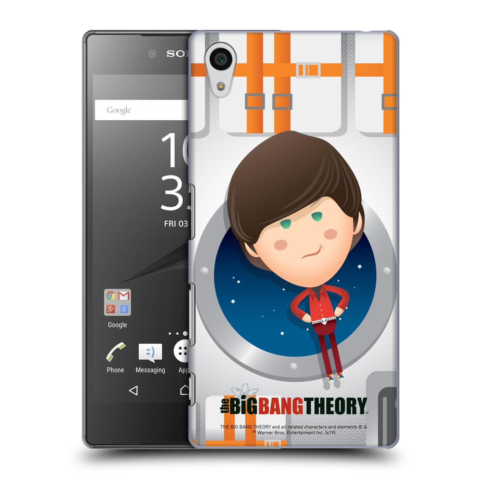 Pouzdro na mobil Sony Xperia Z5 - HEAD CASE - Big Bang Theory - kreslený Howard