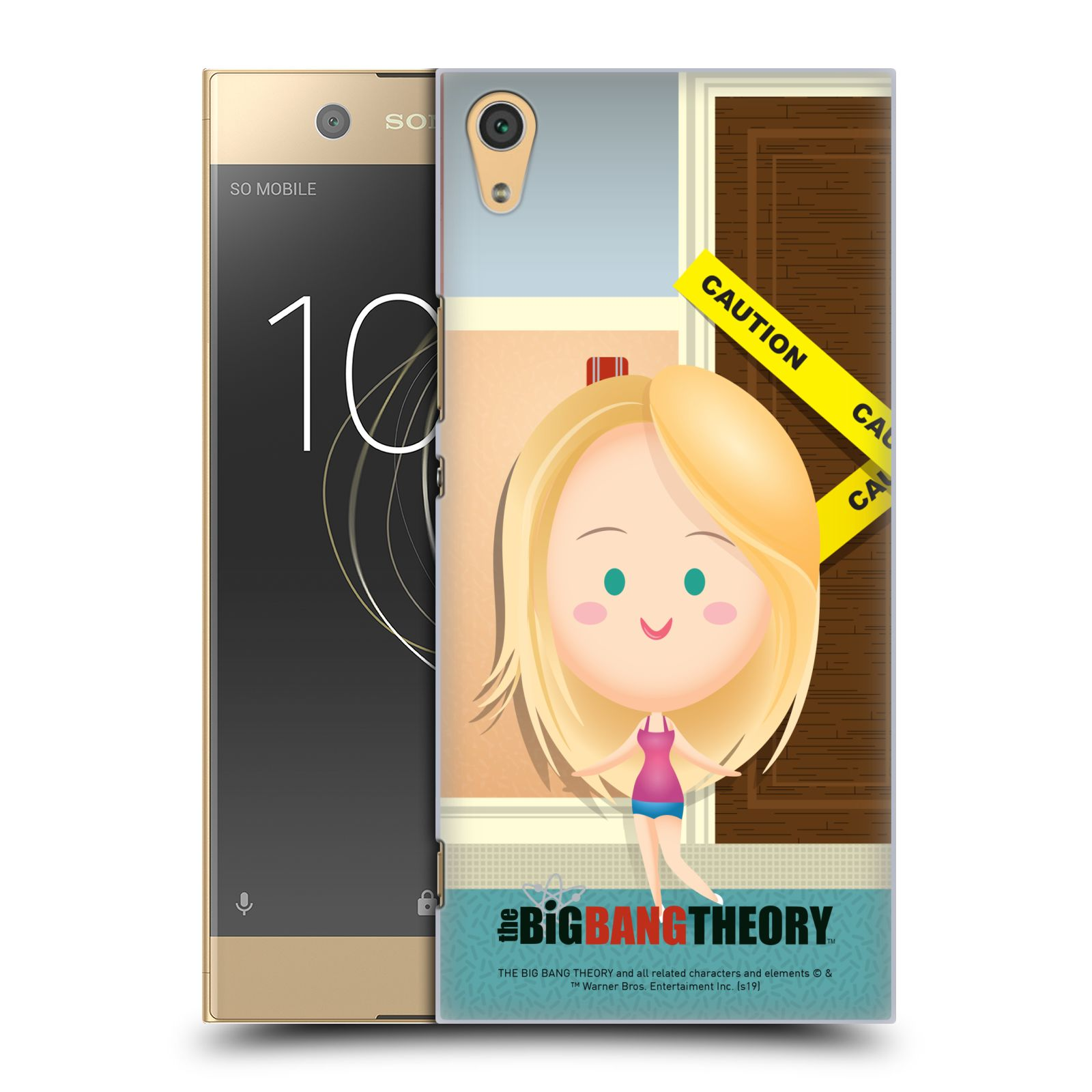Pouzdro na mobil Sony Xperia XA1 ULTRA - HEAD CASE - Big Bang Theory - kreslená Penny
