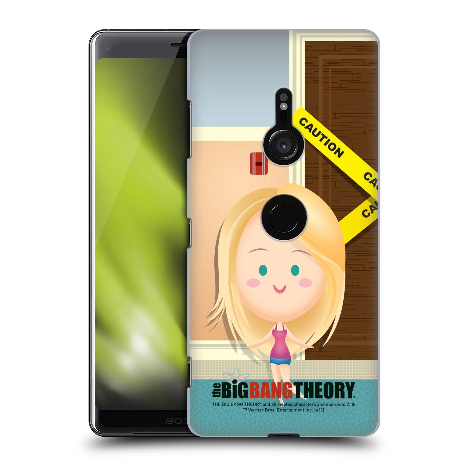 Pouzdro na mobil Sony Xperia XZ3 - HEAD CASE - Big Bang Theory - kreslená Penny