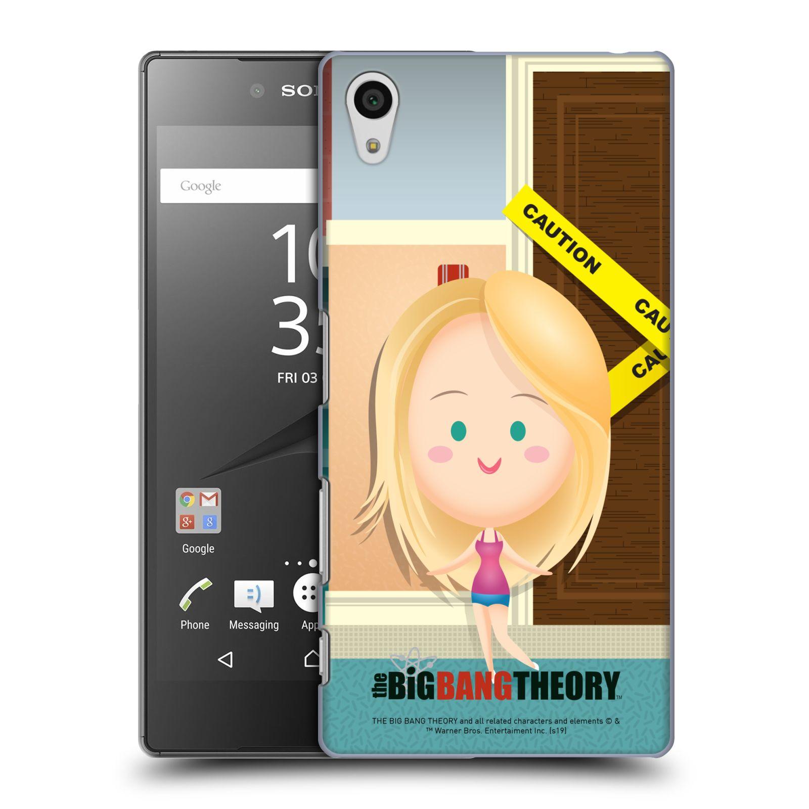 Pouzdro na mobil Sony Xperia Z5 - HEAD CASE - Big Bang Theory - kreslená Penny