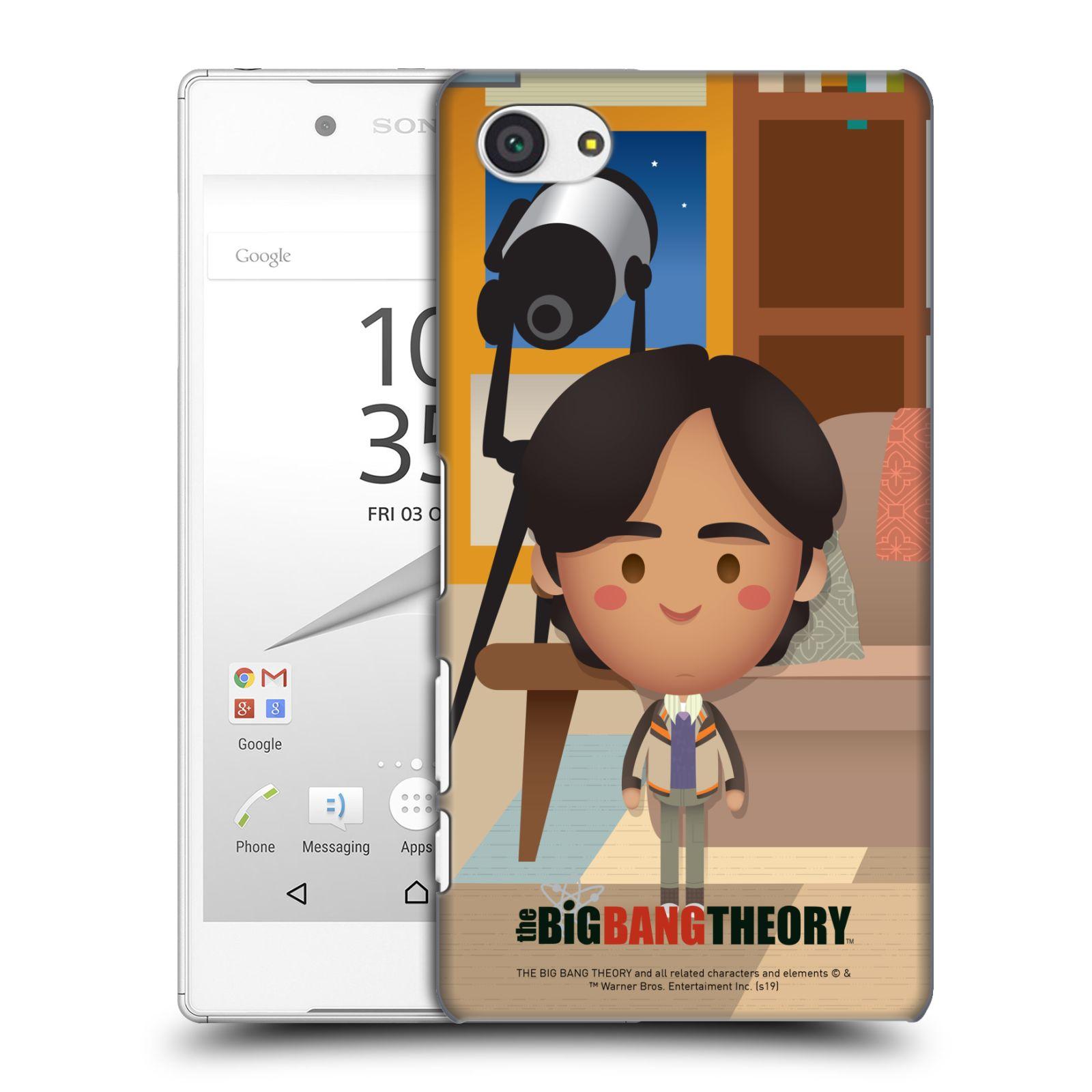 Pouzdro na mobil Sony Xperia Z5 COMPACT - HEAD CASE - Big Bang Theory - kreslený Rajesh