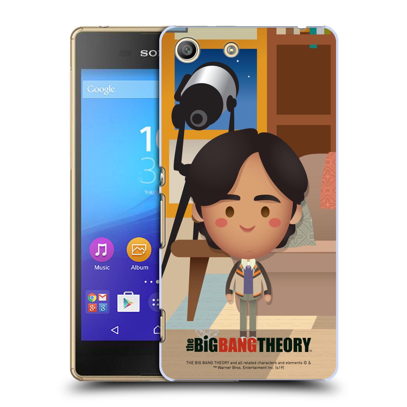 Pouzdro na mobil Sony Xperia M5 - HEAD CASE - Big Bang Theory - kreslený Rajesh