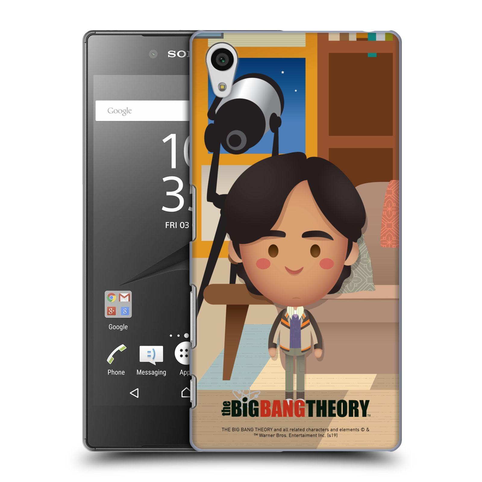 Pouzdro na mobil Sony Xperia Z5 - HEAD CASE - Big Bang Theory - kreslený Rajesh