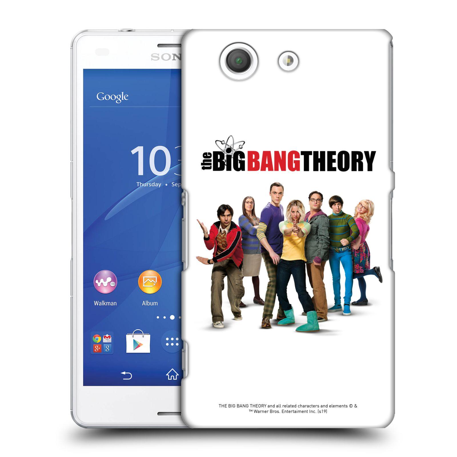 Pouzdro na mobil Sony Xperia Z3 COMPACT - HEAD CASE - Big Bang Theory - 10. sezóna