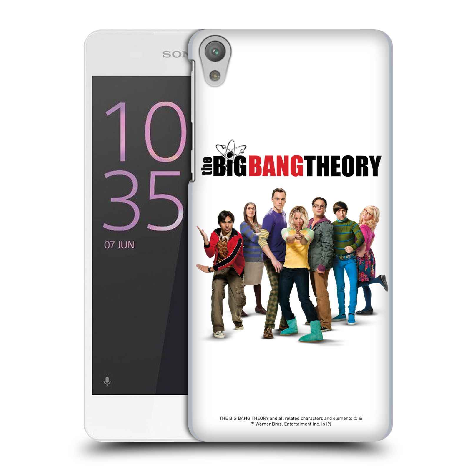 Pouzdro na mobil Sony Xperia E5 - HEAD CASE - Big Bang Theory - 10. sezóna