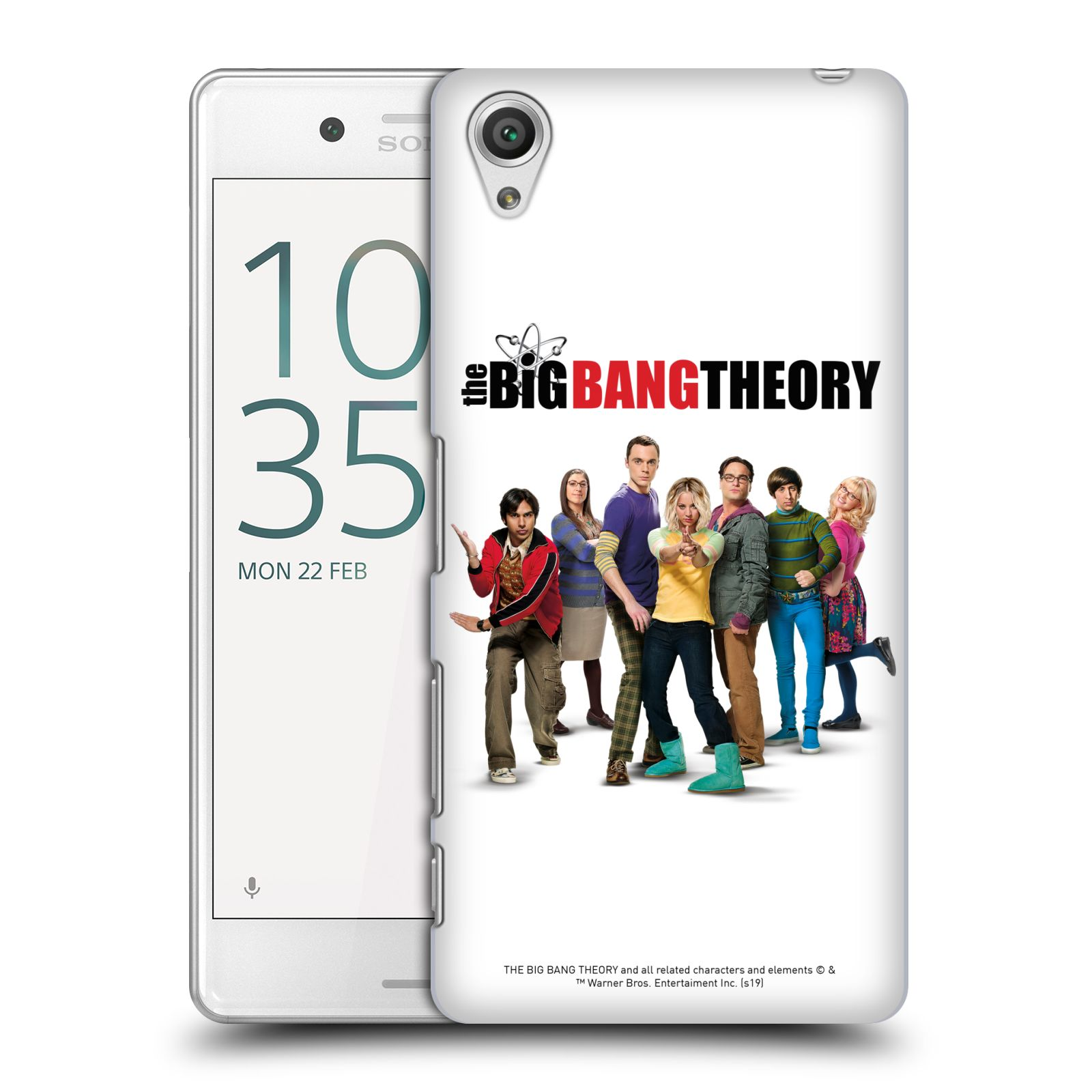 Pouzdro na mobil Sony Xperia X PERFORMANCE - HEAD CASE - Big Bang Theory - 10. sezóna