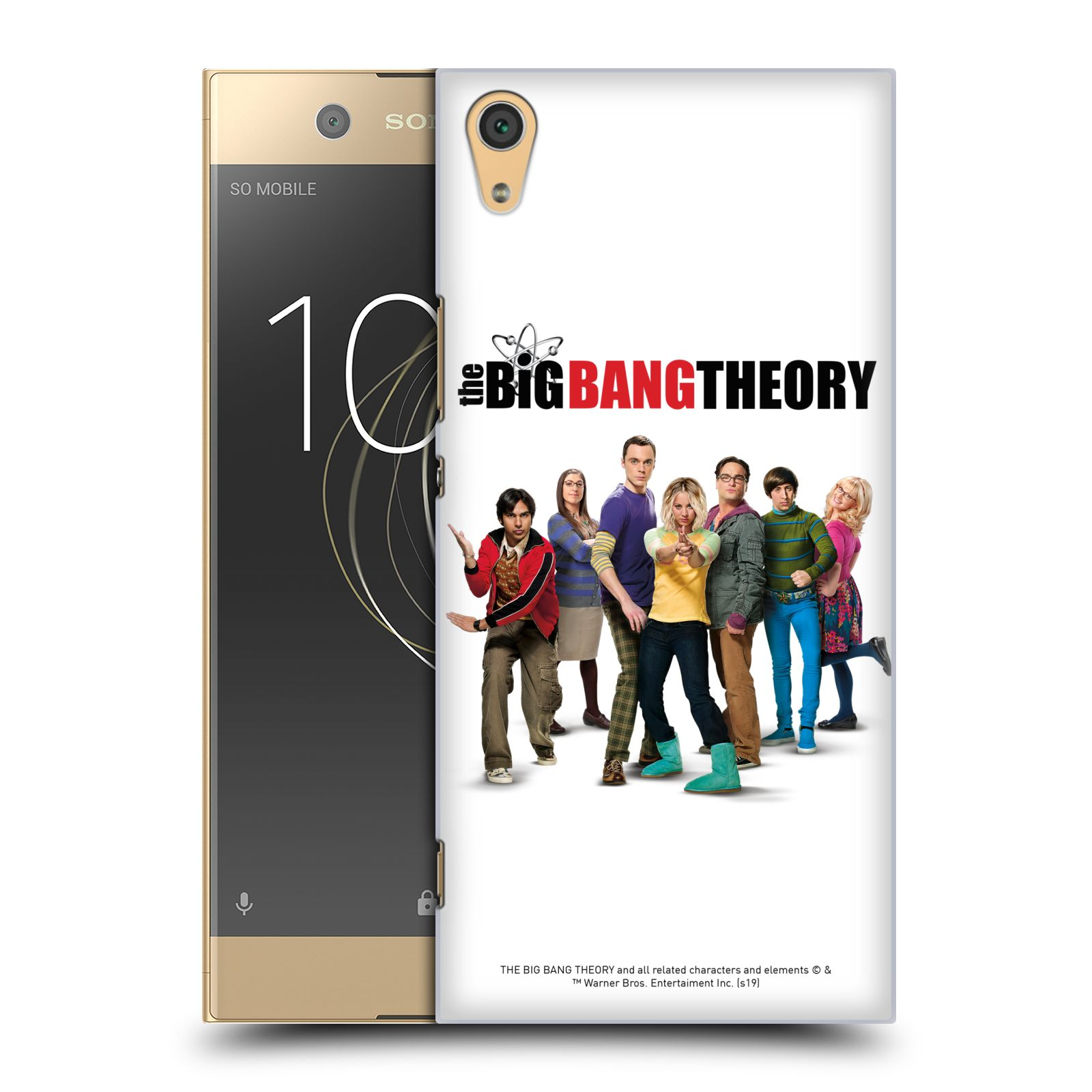 Pouzdro na mobil Sony Xperia XA1 ULTRA - HEAD CASE - Big Bang Theory - 10. sezóna